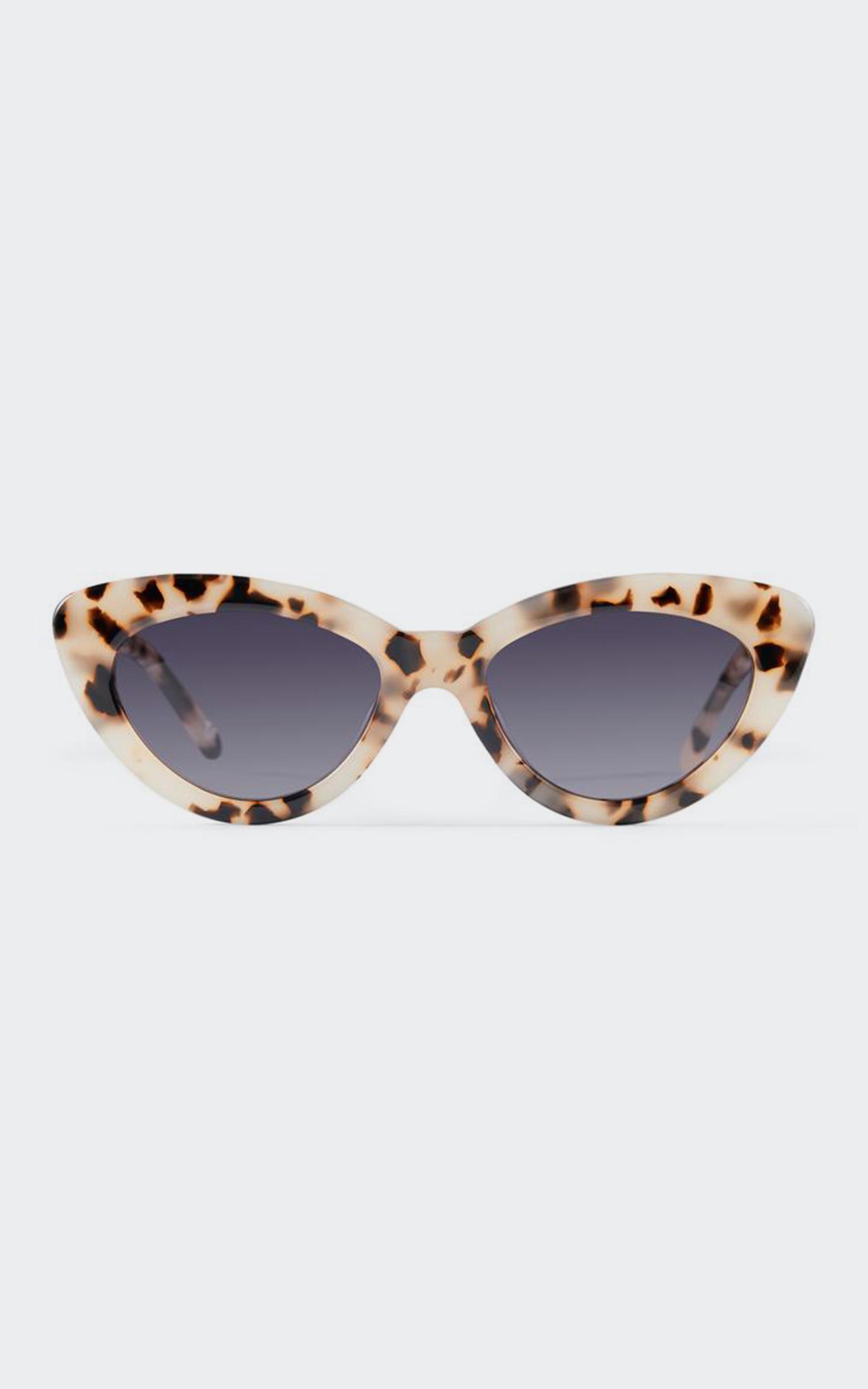 Luv Lou - The Harley Sunglasses in Cream Tort, Cream, hi-res image number null