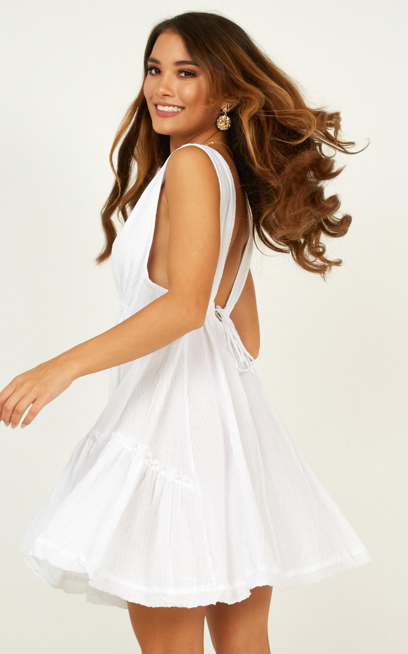 Urban Muse dress in white - 12 (L), White, hi-res image number null