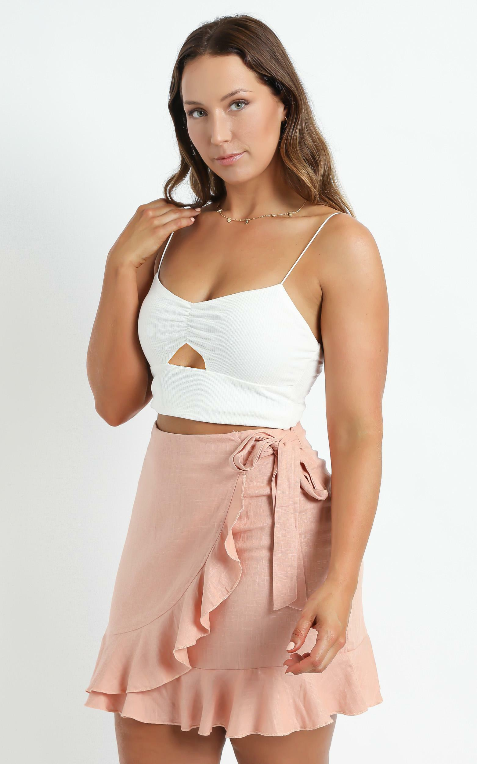 Over And Under Skirt in Dusty Rose - 04, PNK9, hi-res image number null