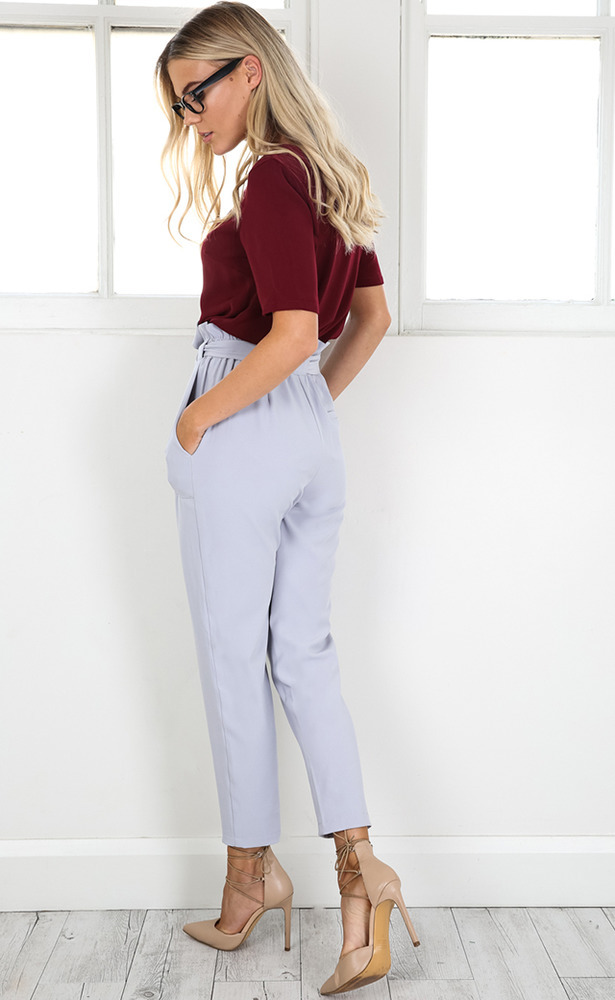 Work Up Pants in Grey - 06, GRY2, hi-res image number null