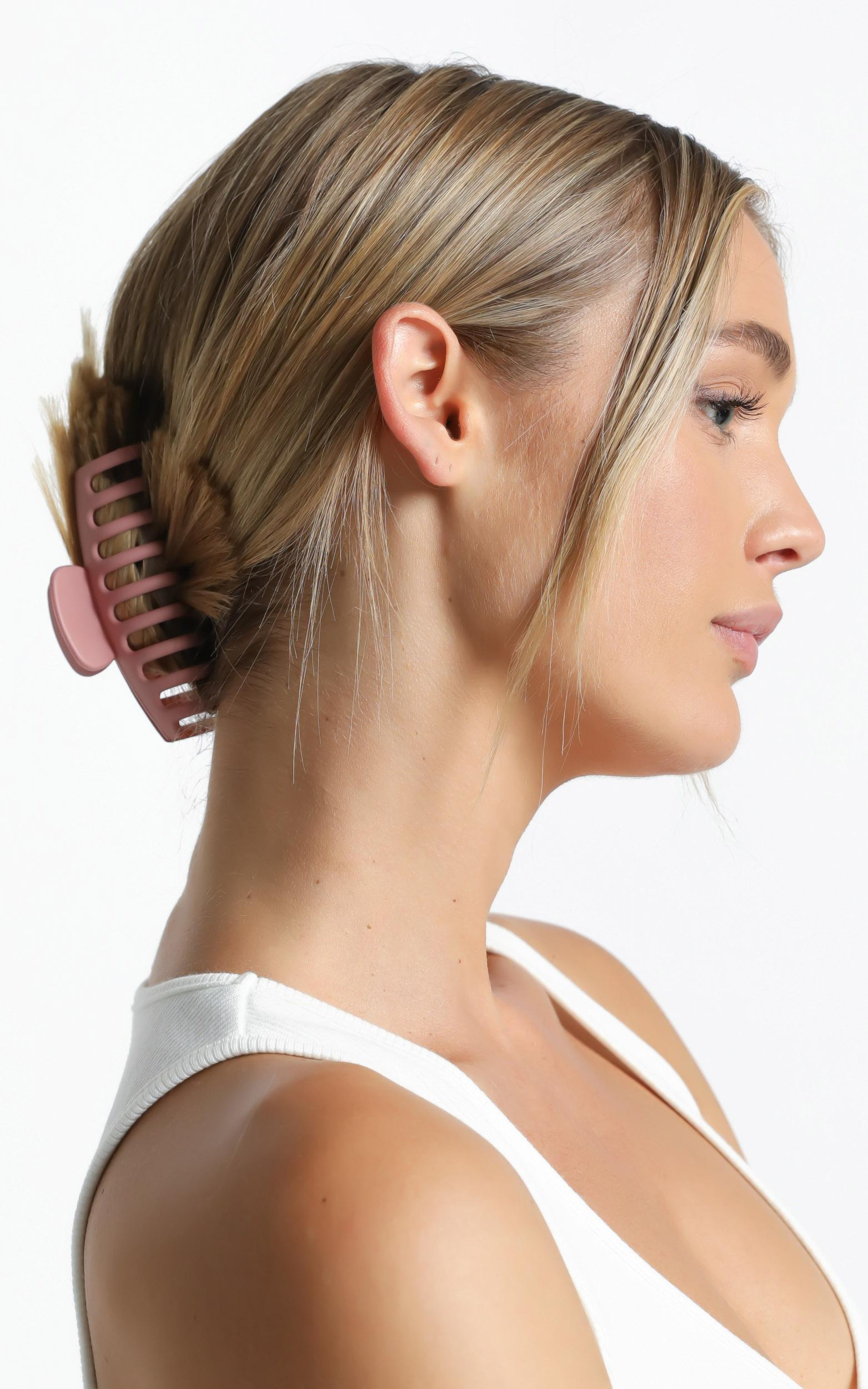 Bring It Back Hair Clip in Pink, , hi-res image number null