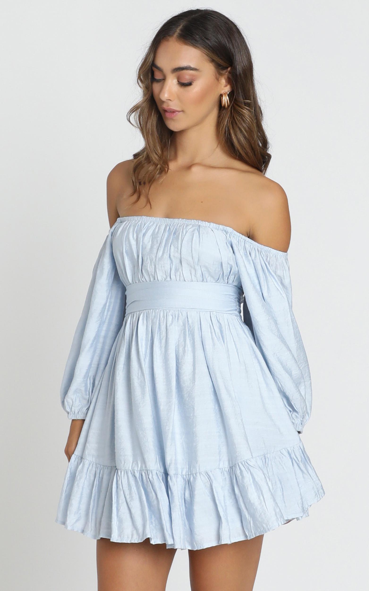 Mandi Dress in blue - 6 (XS), Blue, hi-res image number null