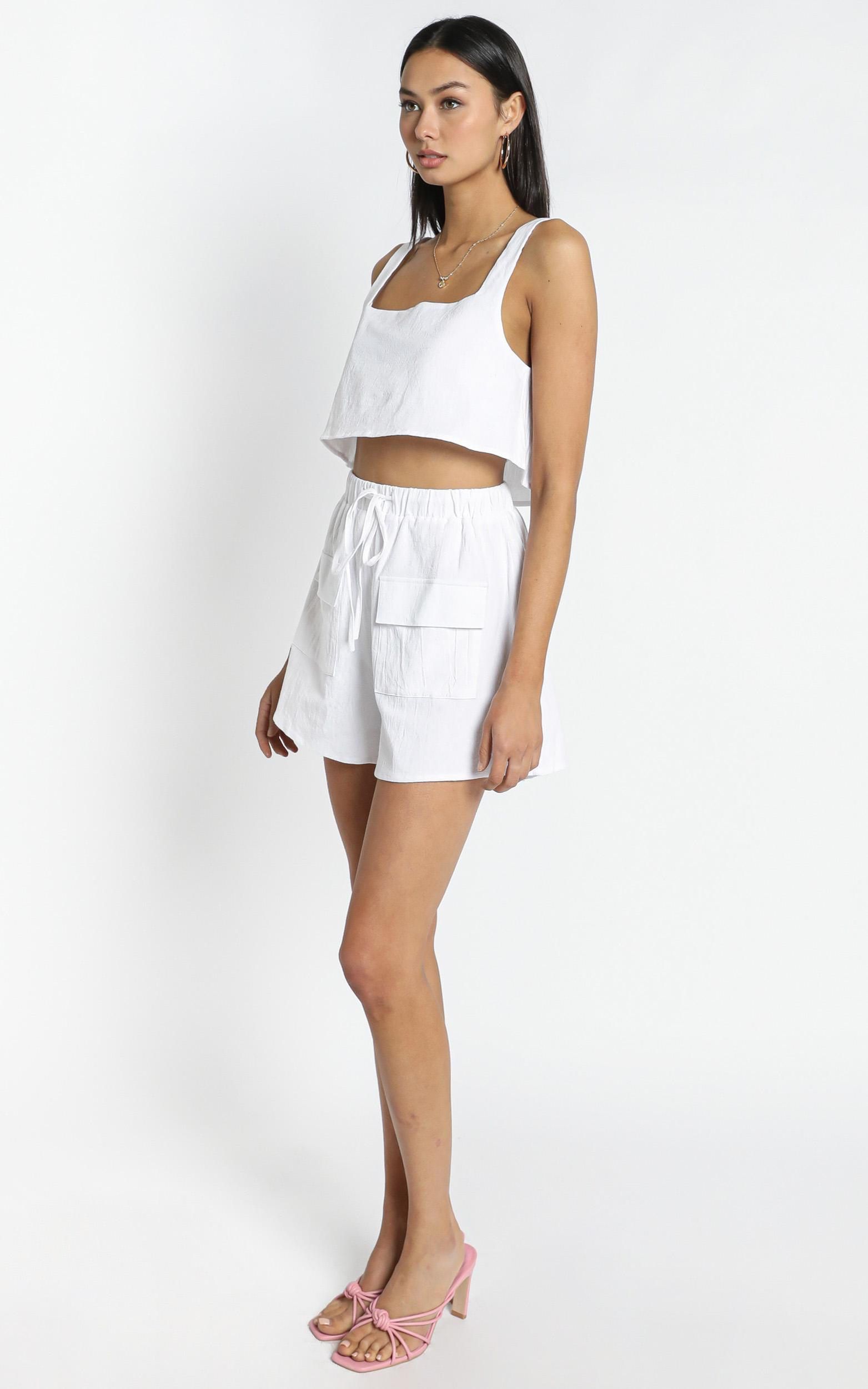 Starlight Shorts in White - 12 (L), White, hi-res image number null