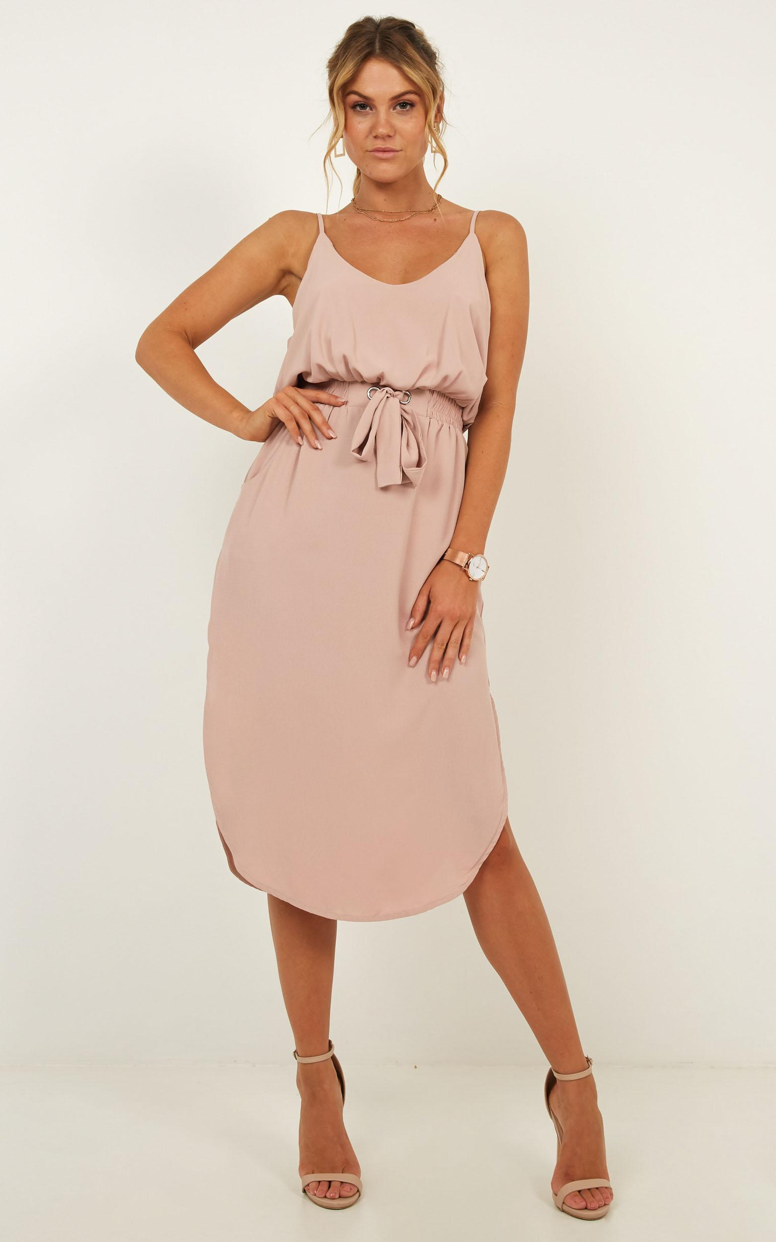 Get Things Done Dress in Blush - 08, PNK2, hi-res image number null