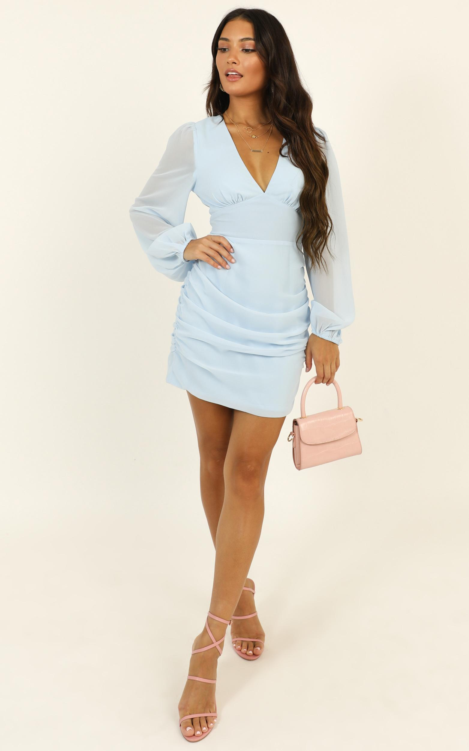 Party Just For Fun Dress in light blue - 14 (XL), Blue, hi-res image number null