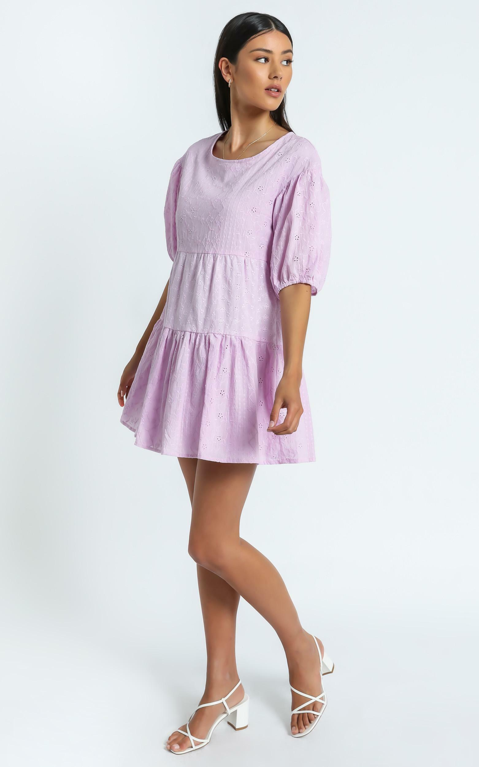 August Dress in Lilac - 6 (XS), Purple, hi-res image number null