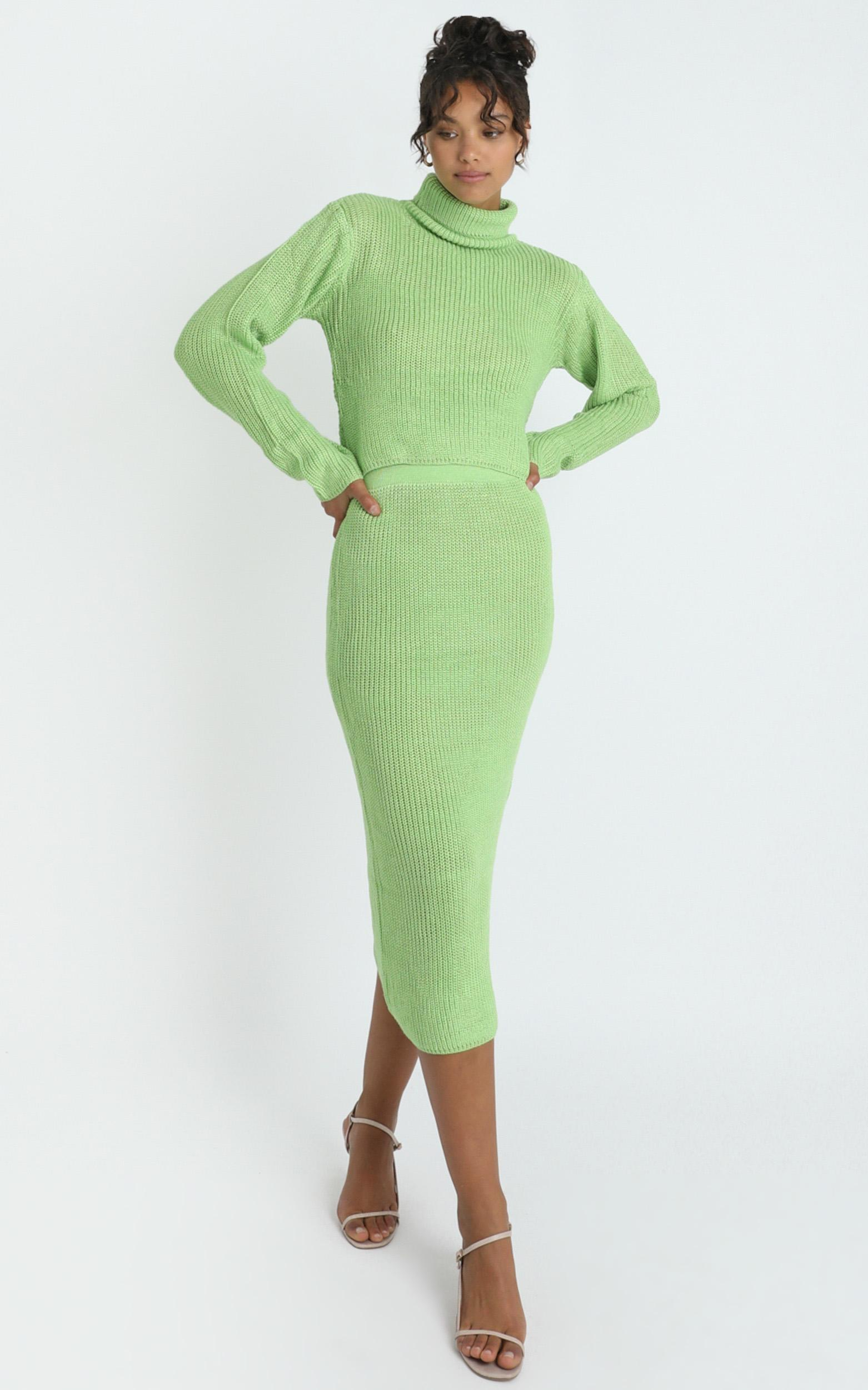 Edwynna Jumper in Green - 8 (S), Green, hi-res image number null