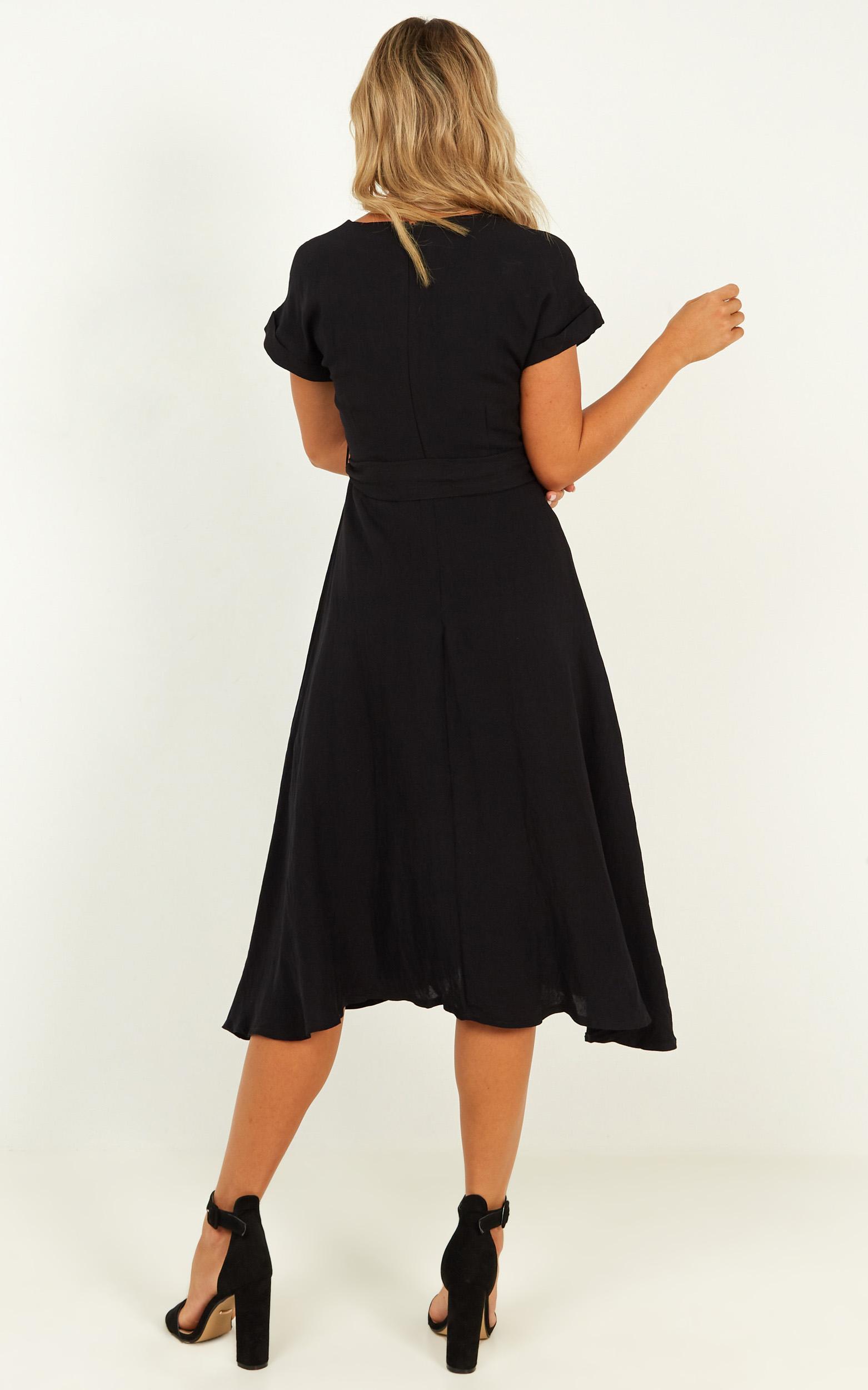 Talk Power Dress In black - 12 (L), Black, hi-res image number null