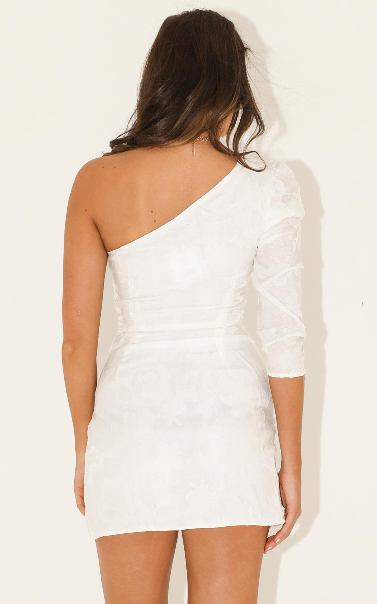 Keep Me Close dress in white - 12 (L), White, hi-res image number null