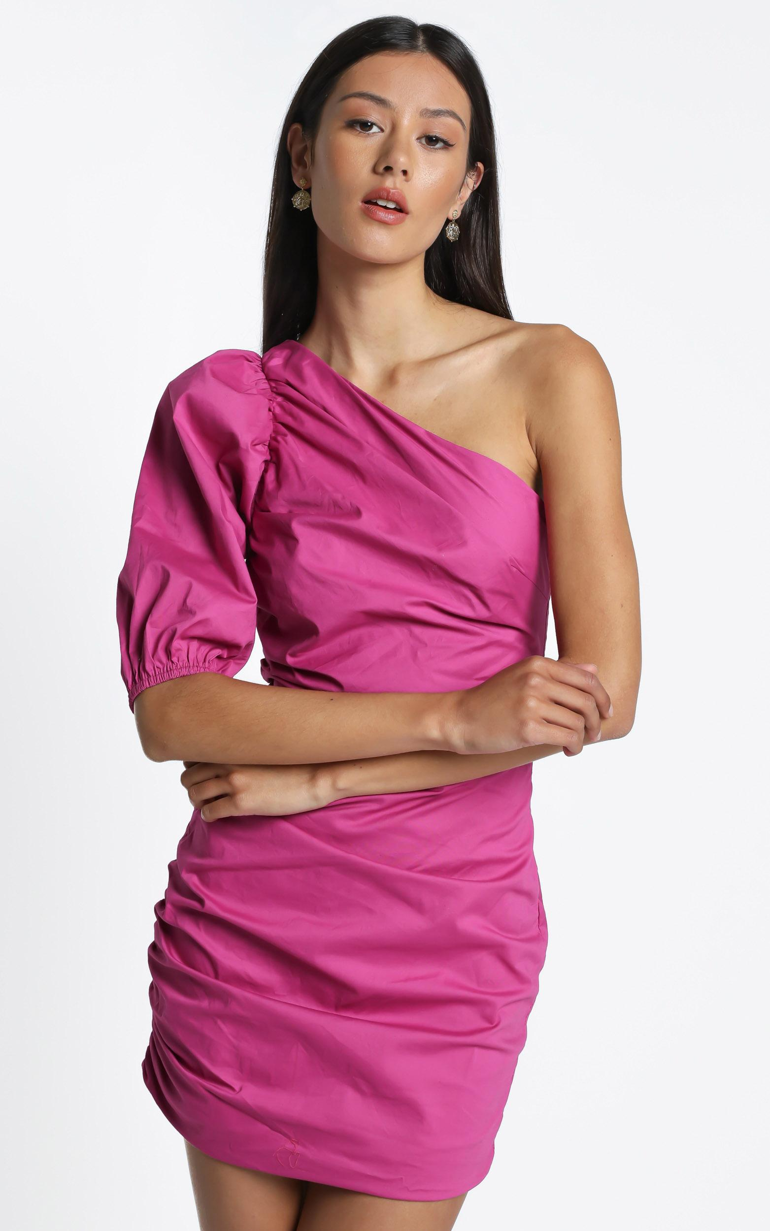 Lexia Dress in Pink - 14 (XL), Pink, hi-res image number null