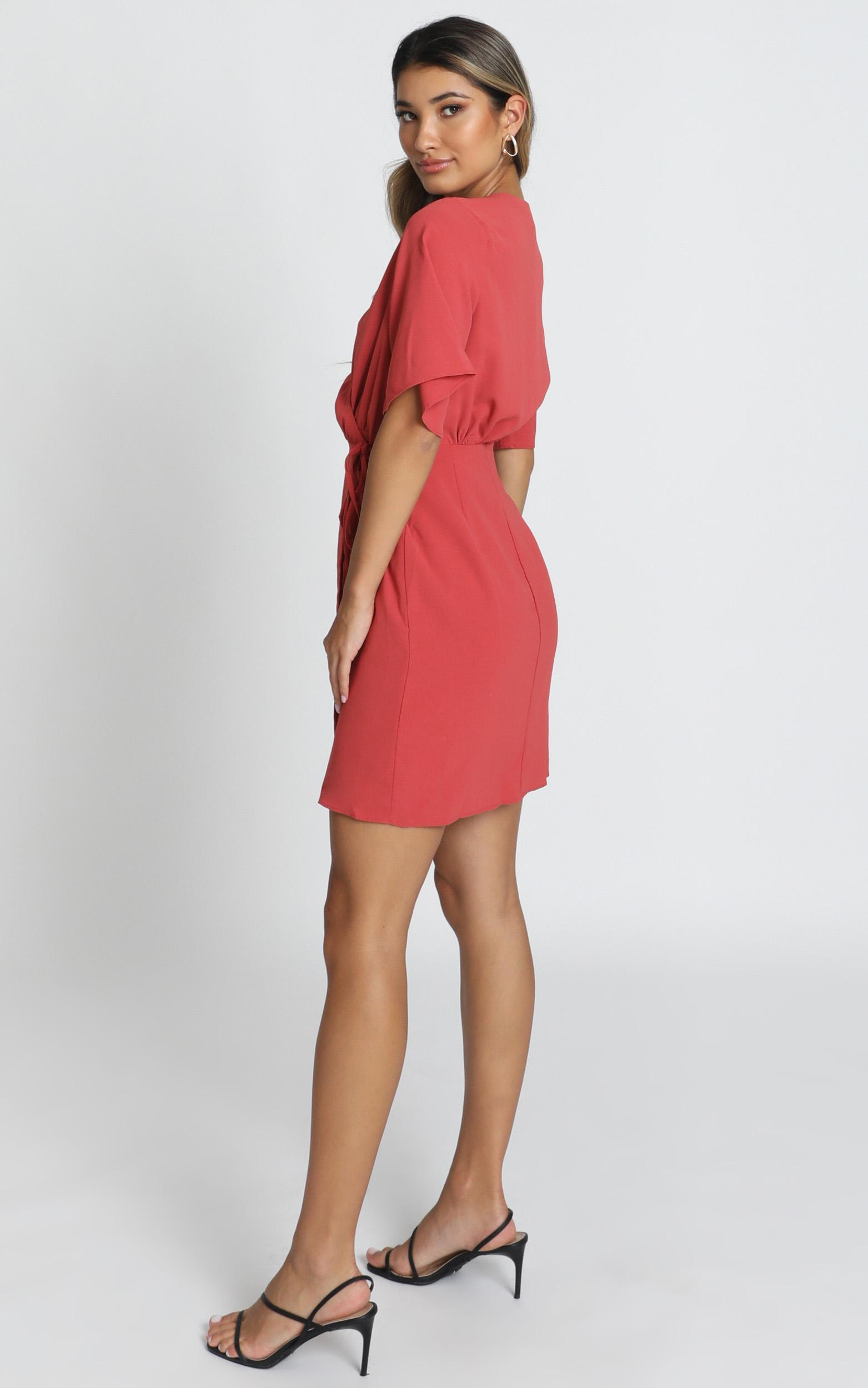 New Memo Dress in dusty rose - 20 (XXXXL), Pink, hi-res image number null
