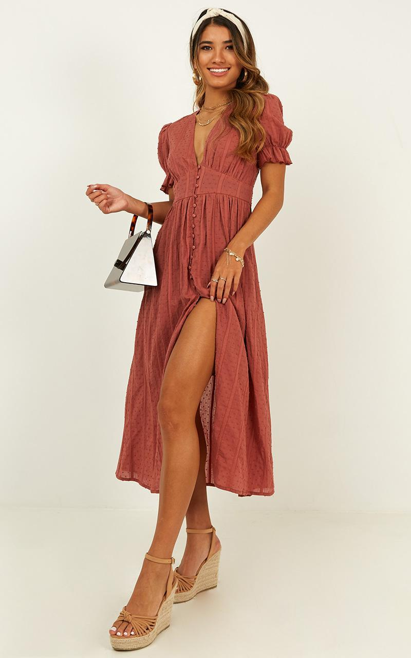 Sweetness Overload Dress in dusty rose - 20 (XXXXL), Pink, hi-res image number null