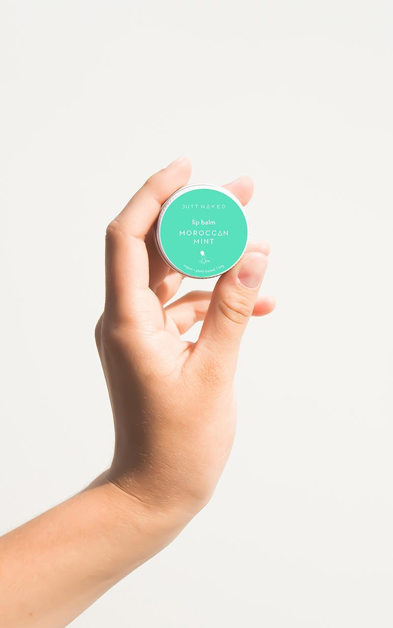 Butt Naked - Moroccan Mint Lip Balm 10g , , hi-res image number null