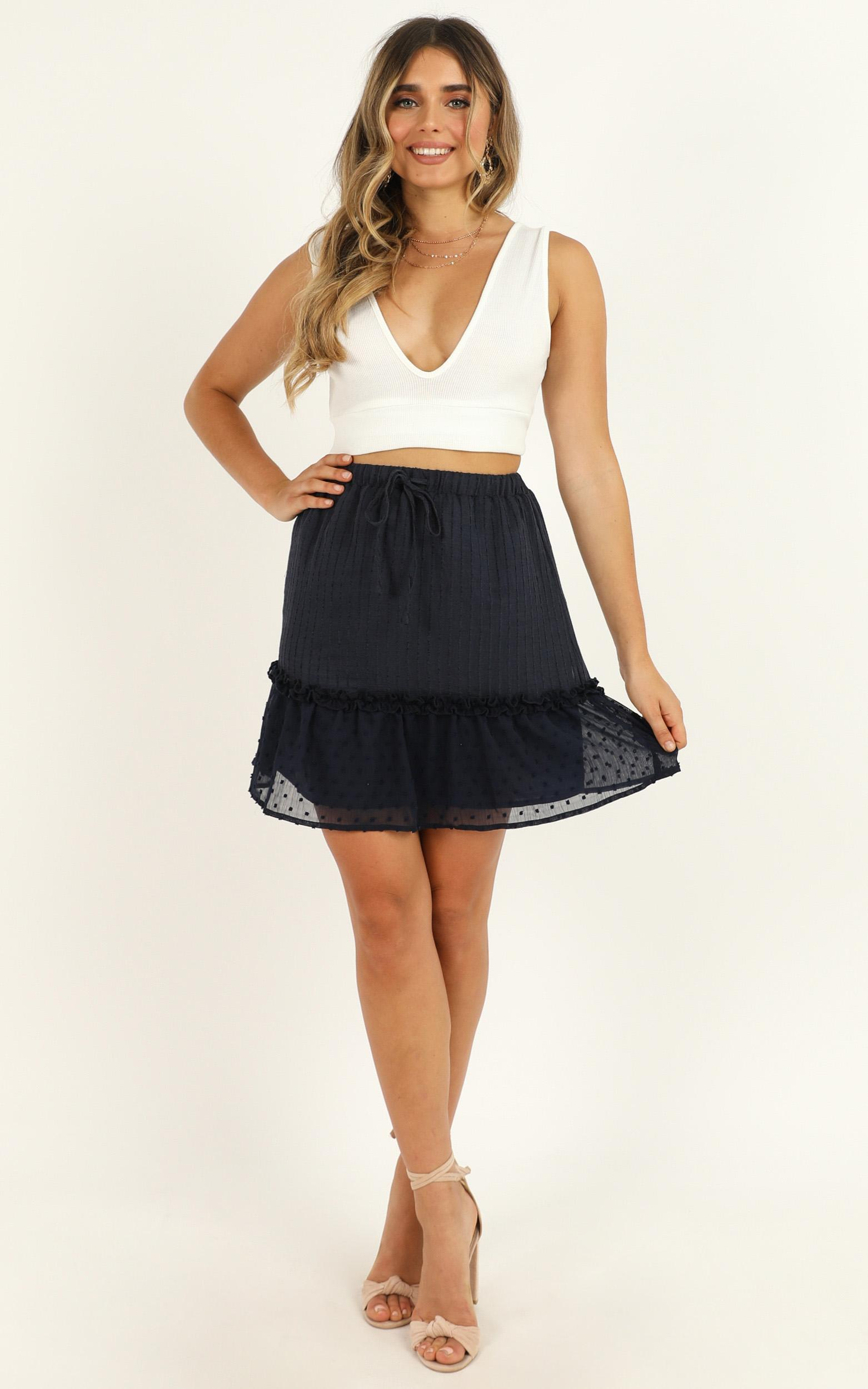 Open Options Skirt in navy - 14 (XL), Navy, hi-res image number null