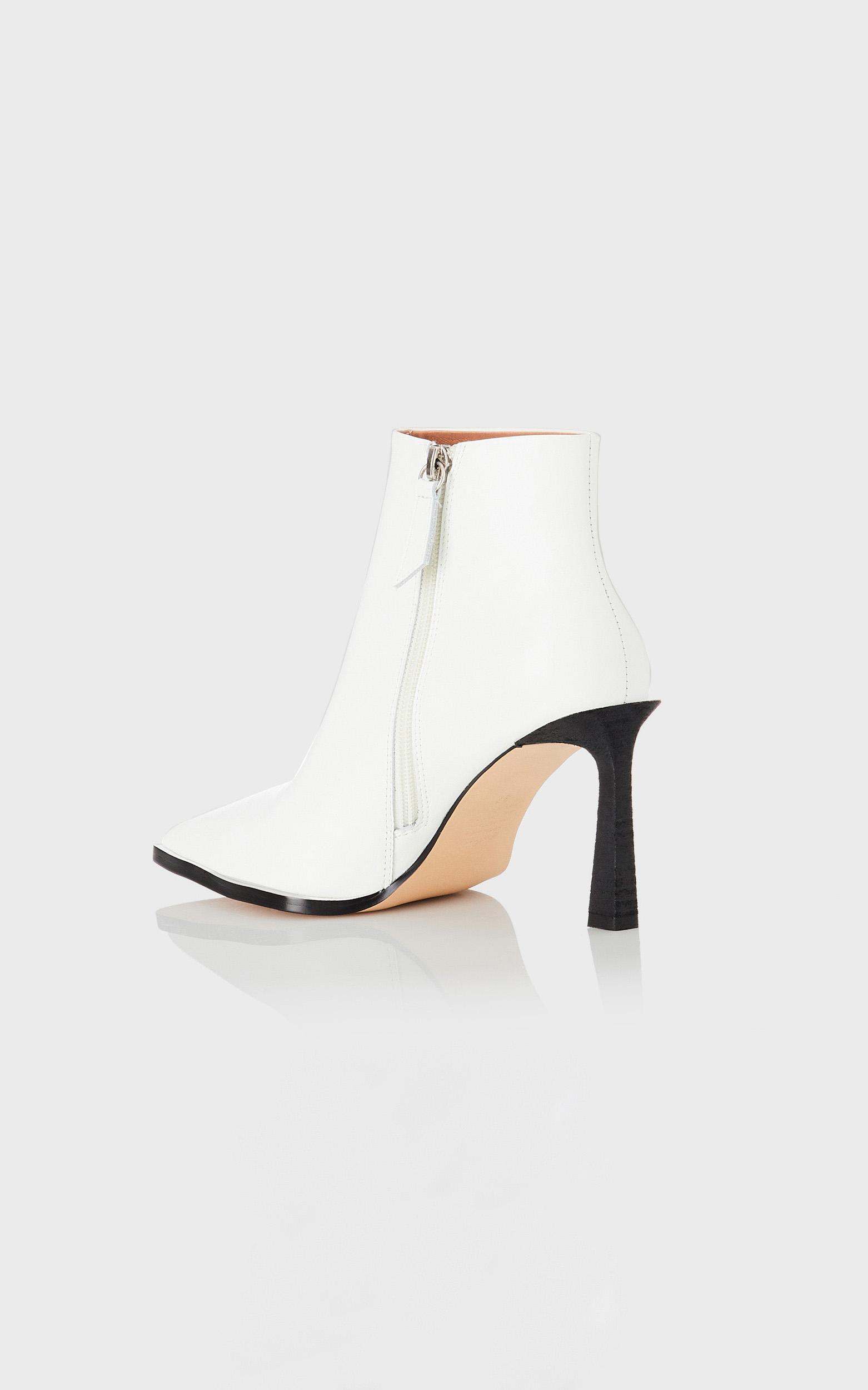 Alias Mae - Zara Boots in White Leather - 36, White, hi-res image number null