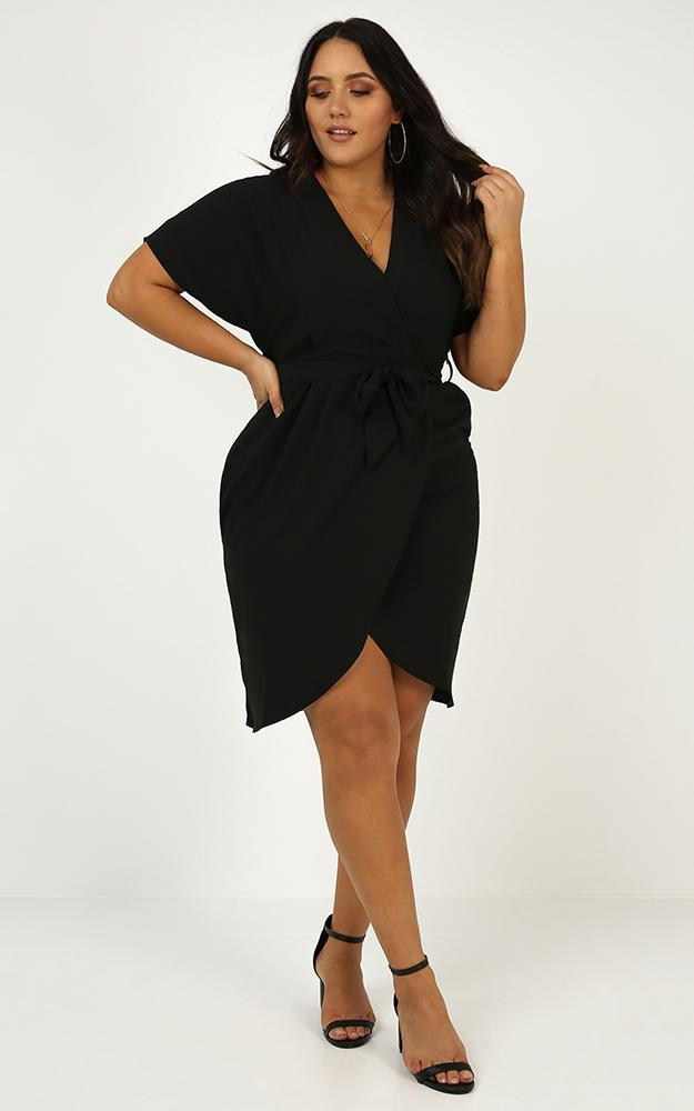 All Shook Up Dress in Black - 12 (L), Black, hi-res image number null
