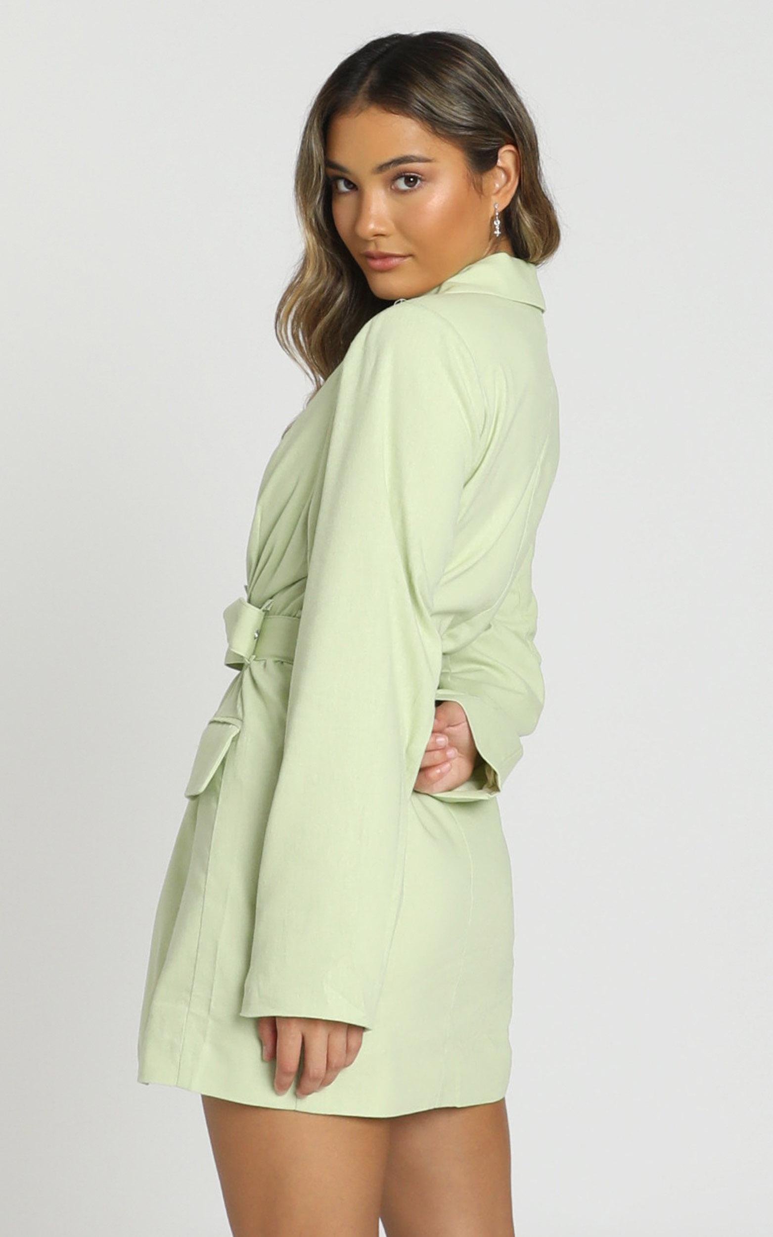 Babette Dress in lime - 8 (S), Green, hi-res image number null