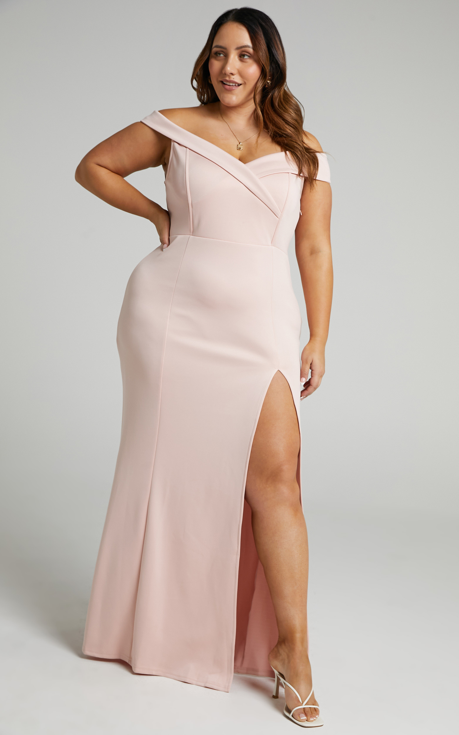 One For The Money dress in blush - 20 (XXXXL), Blush, hi-res image number null