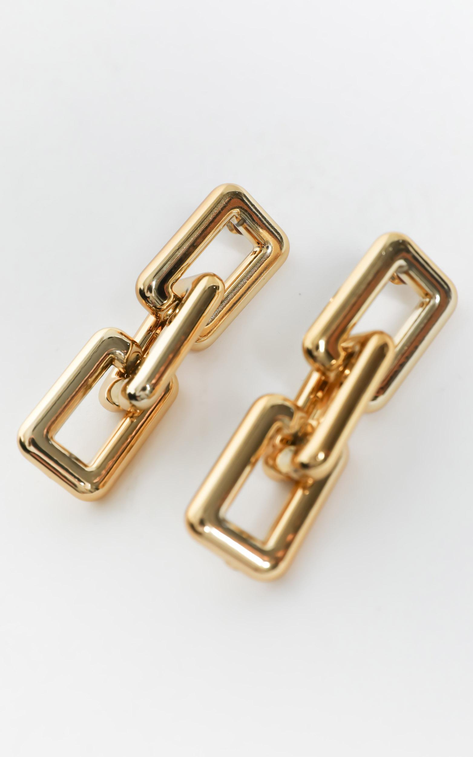 Vivianna Earrings in Gold, , hi-res image number null