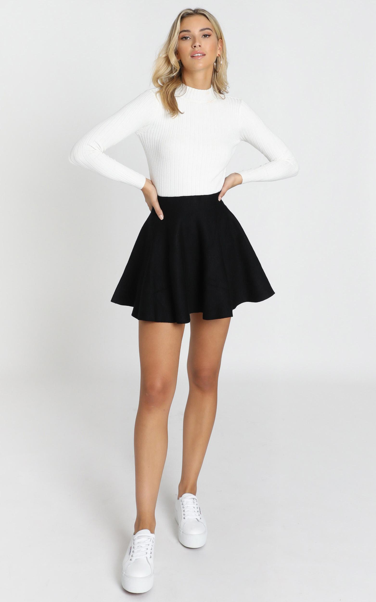 Real Deal skirt in black - 20 (XXXXL), Black, hi-res image number null