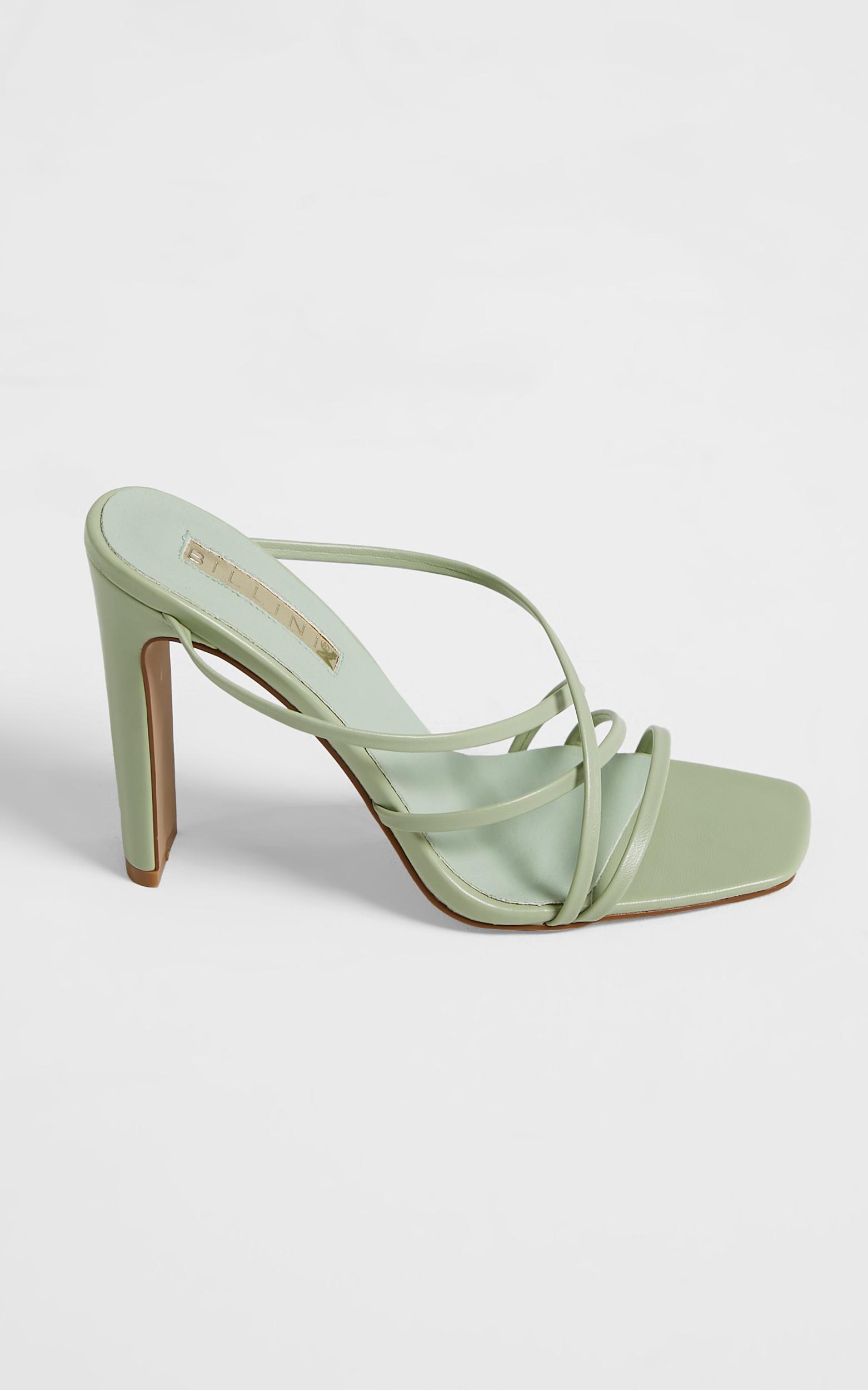 Billini - Yenta Heels in Pistachio - 5, Green, hi-res image number null
