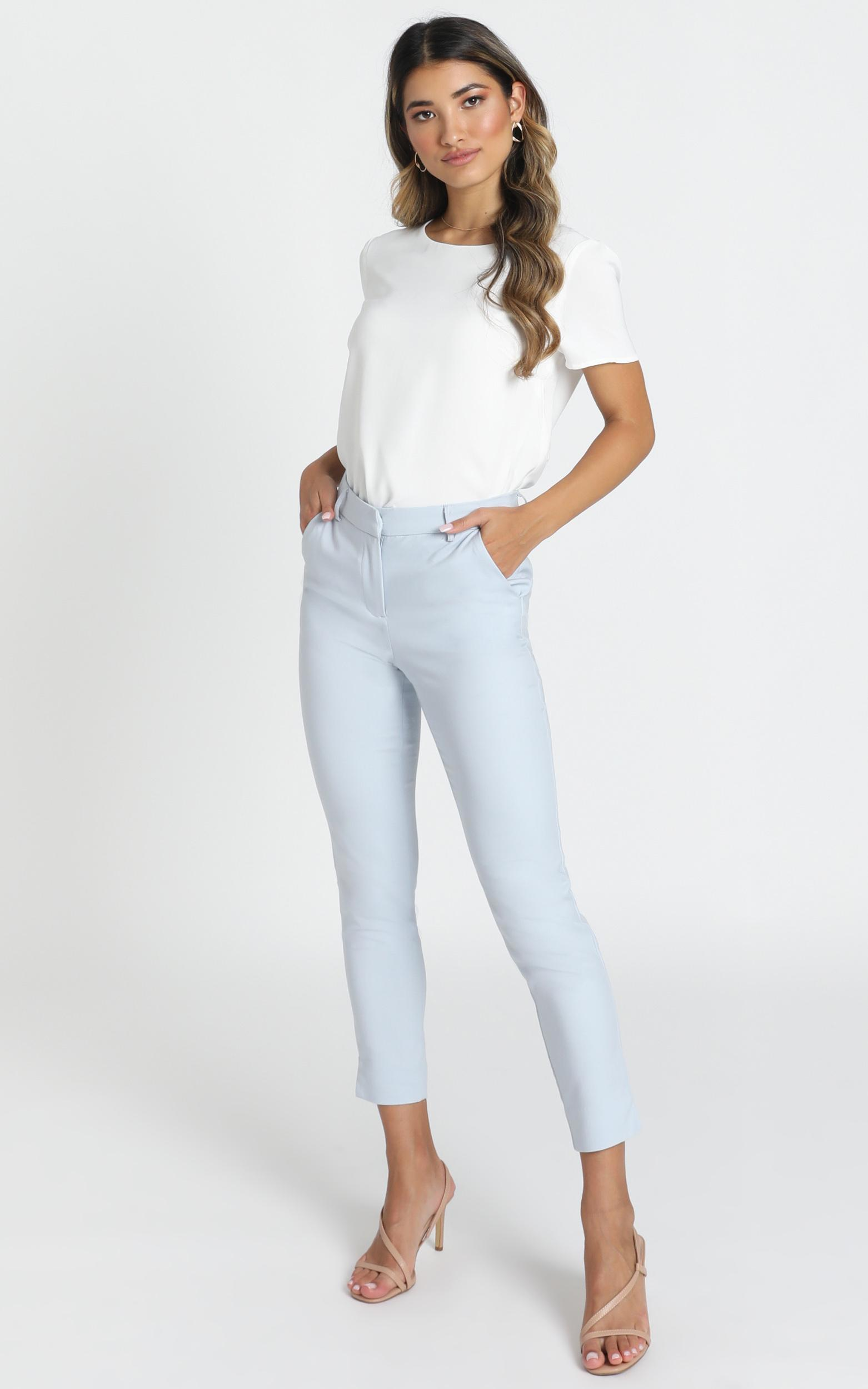 Playing Cool Pants In blue - 14 (XL), Blue, hi-res image number null