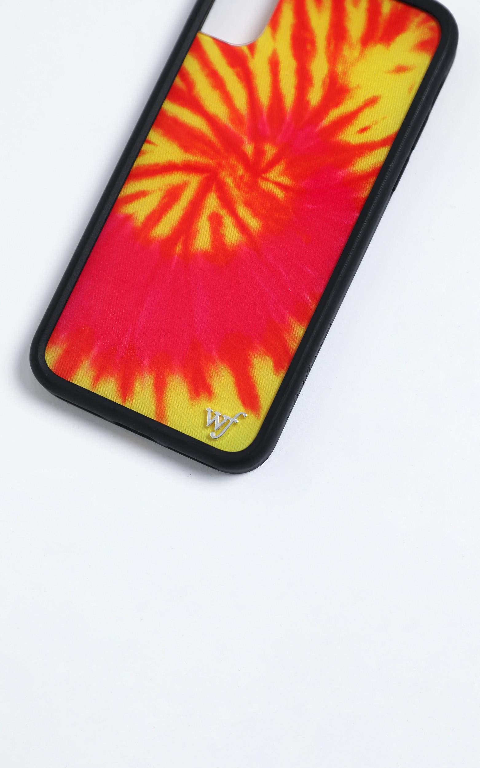 Wildflower - Iphone Case in Swirl Tye Dye - 8 Plus, Orange, hi-res image number null