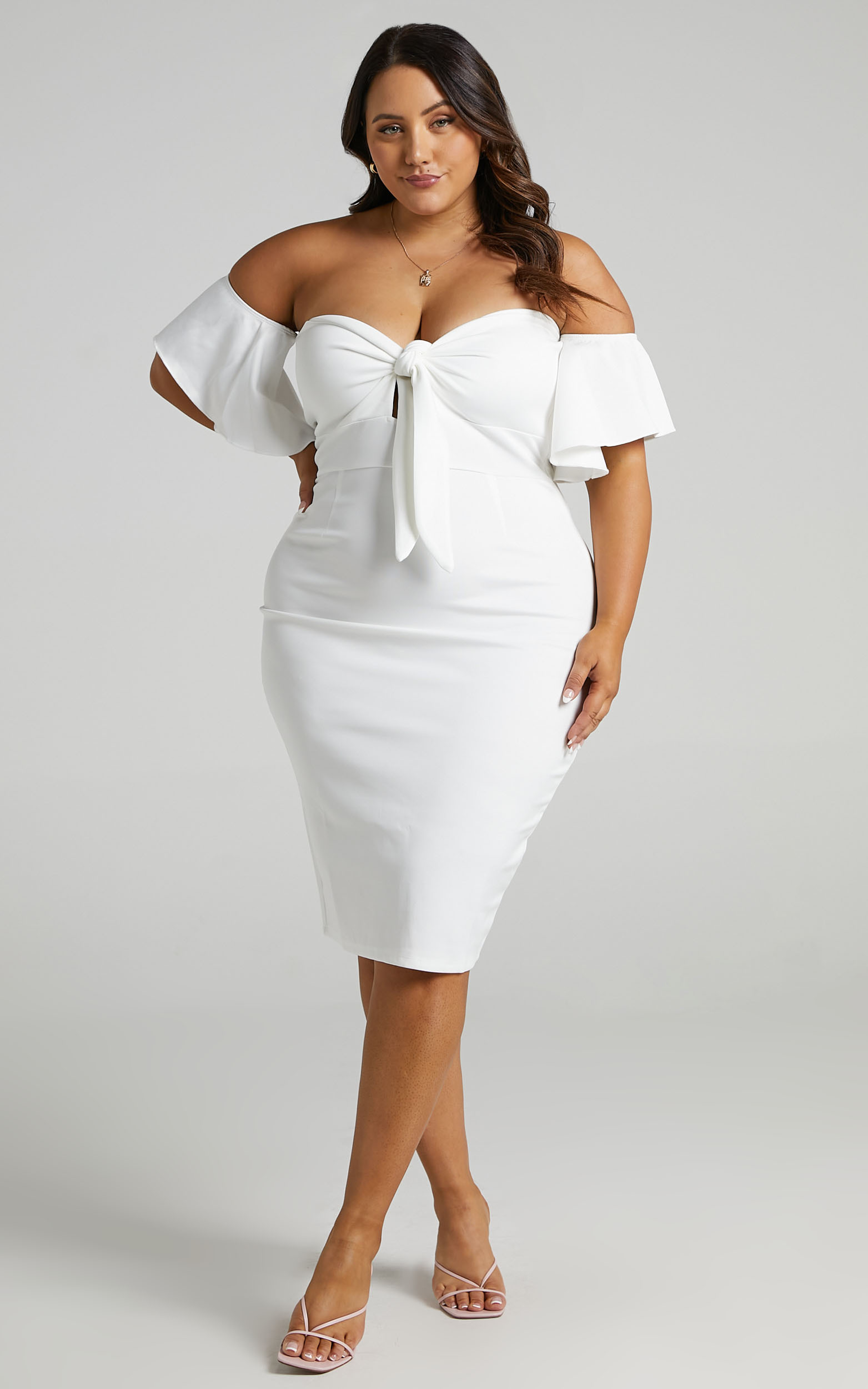 Guest Edit Dress in White - 20, WHT5, hi-res image number null