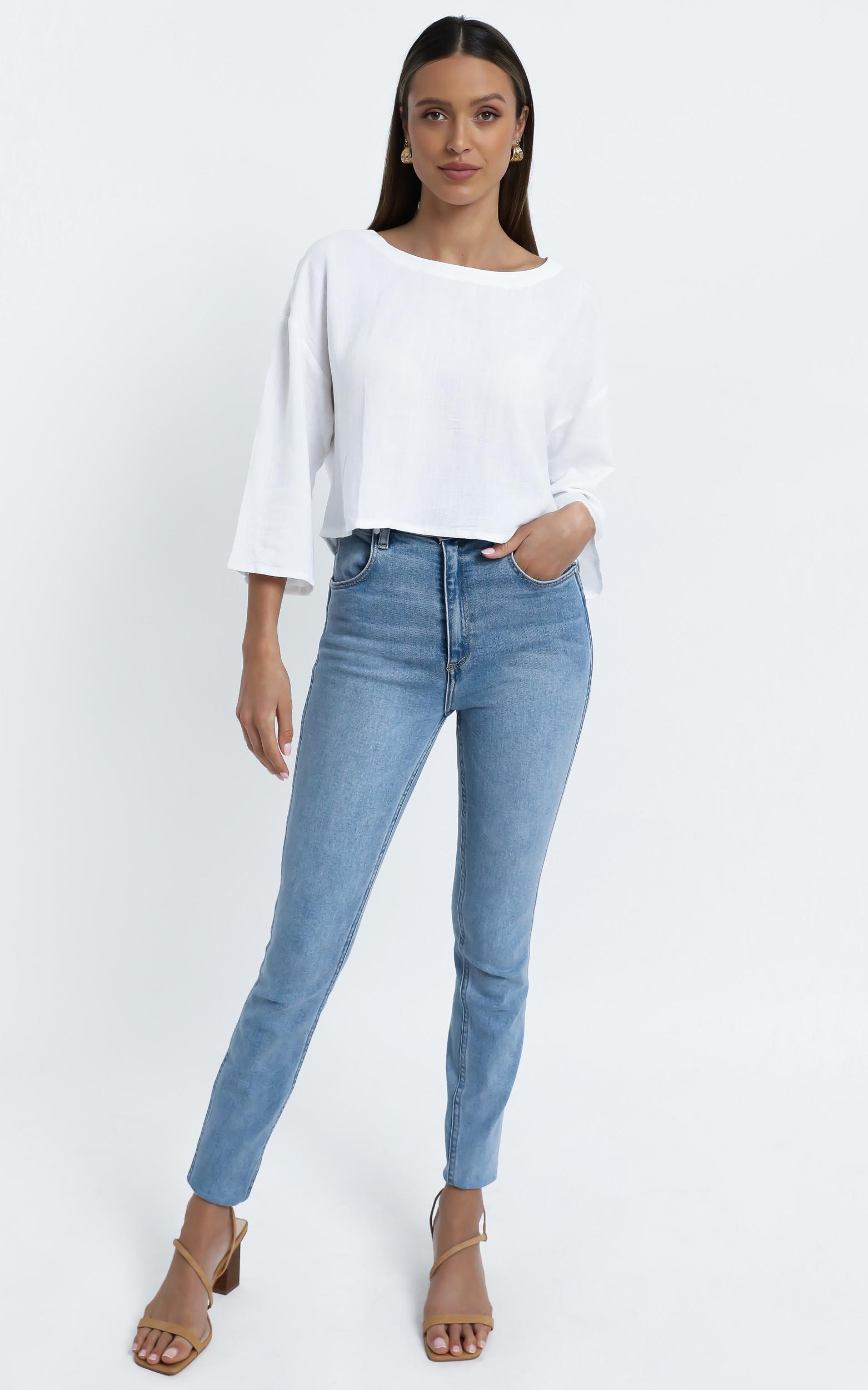 Analeigh Top in White - 14 (XL), White, hi-res image number null