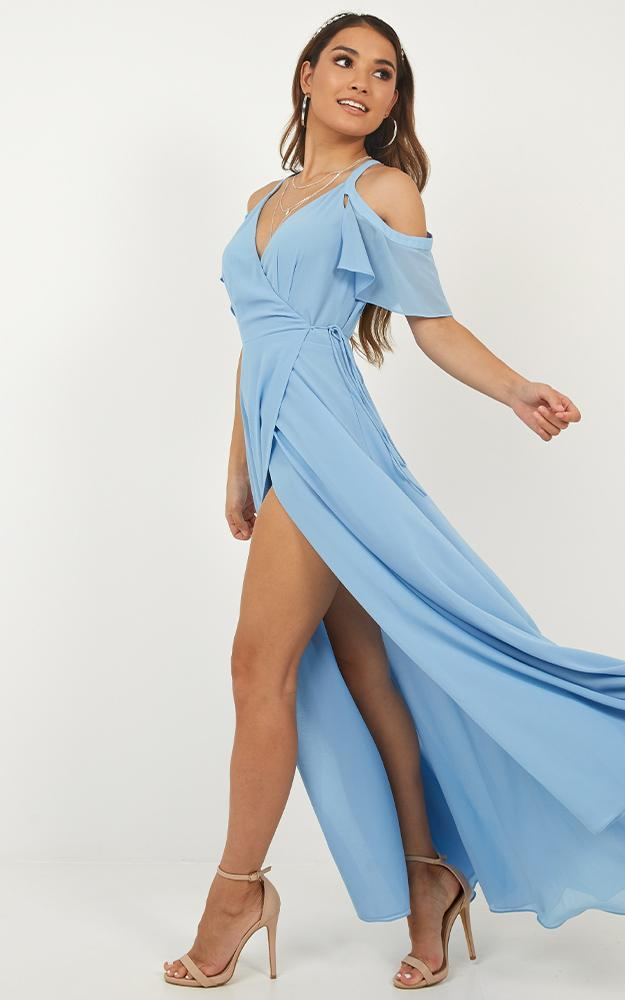 Give You My All Dress In cornflower blue - 8 (S), Blue, hi-res image number null