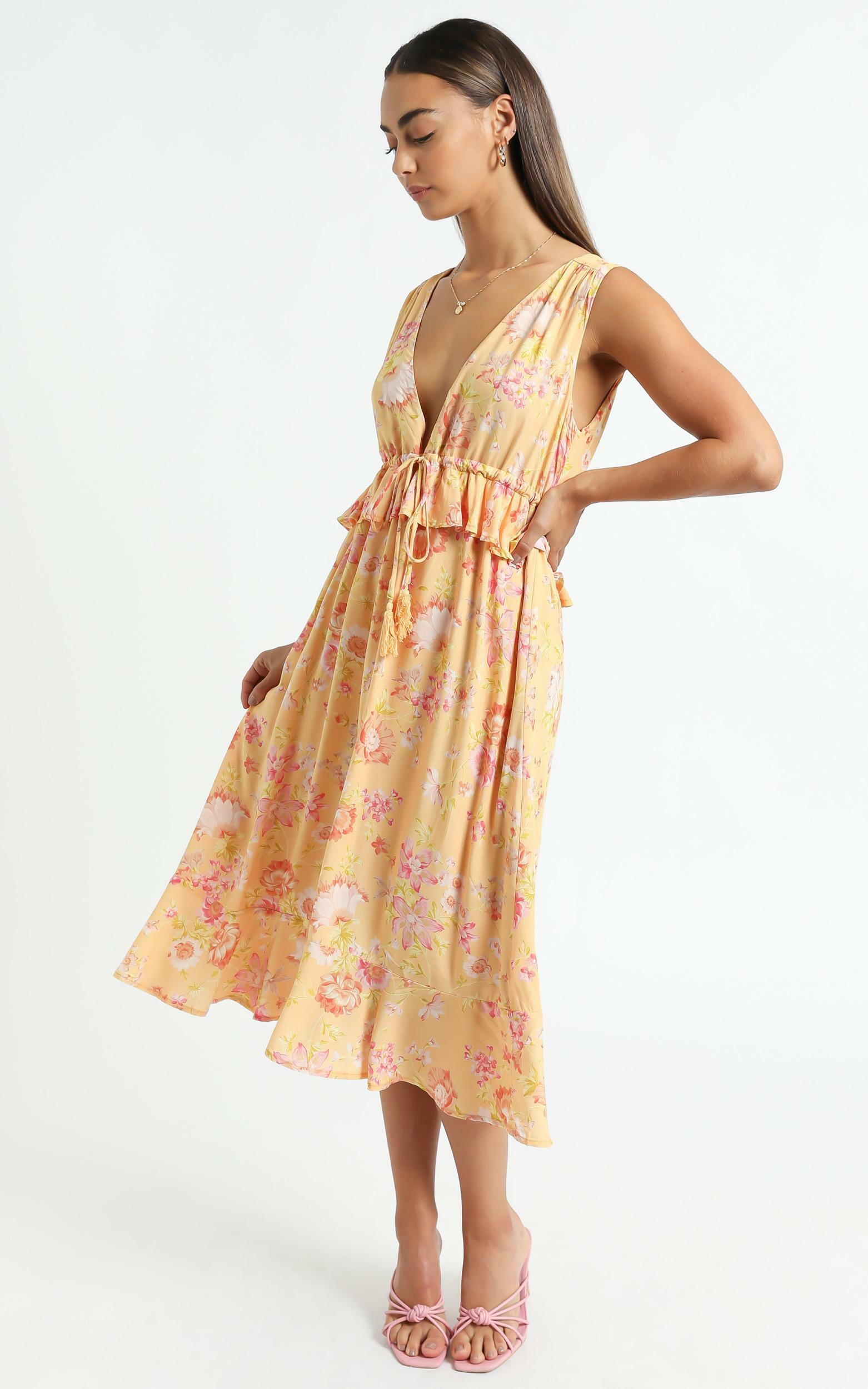 Kadri Dress in Tuscan Spring - 6 (XS), Multi, hi-res image number null