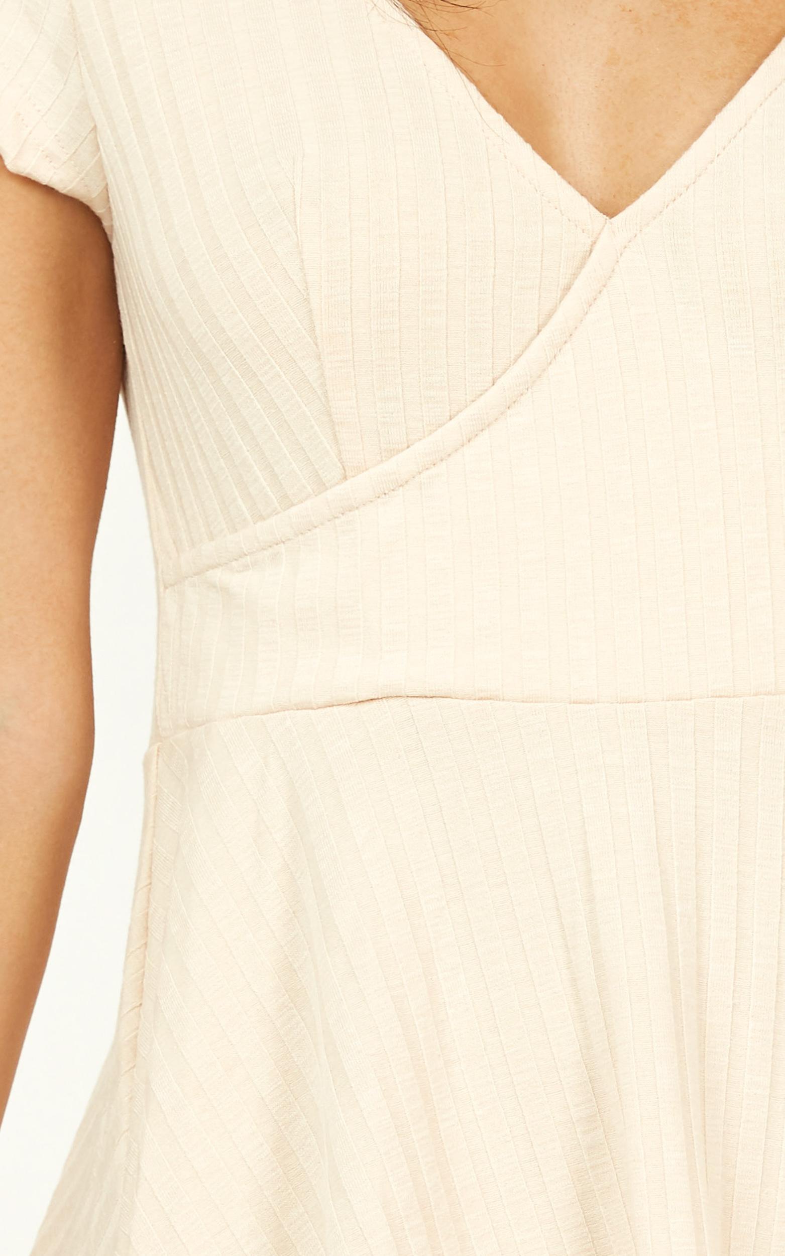 Same But Different Dress in cream - 20 (XXXXL), Cream, hi-res image number null