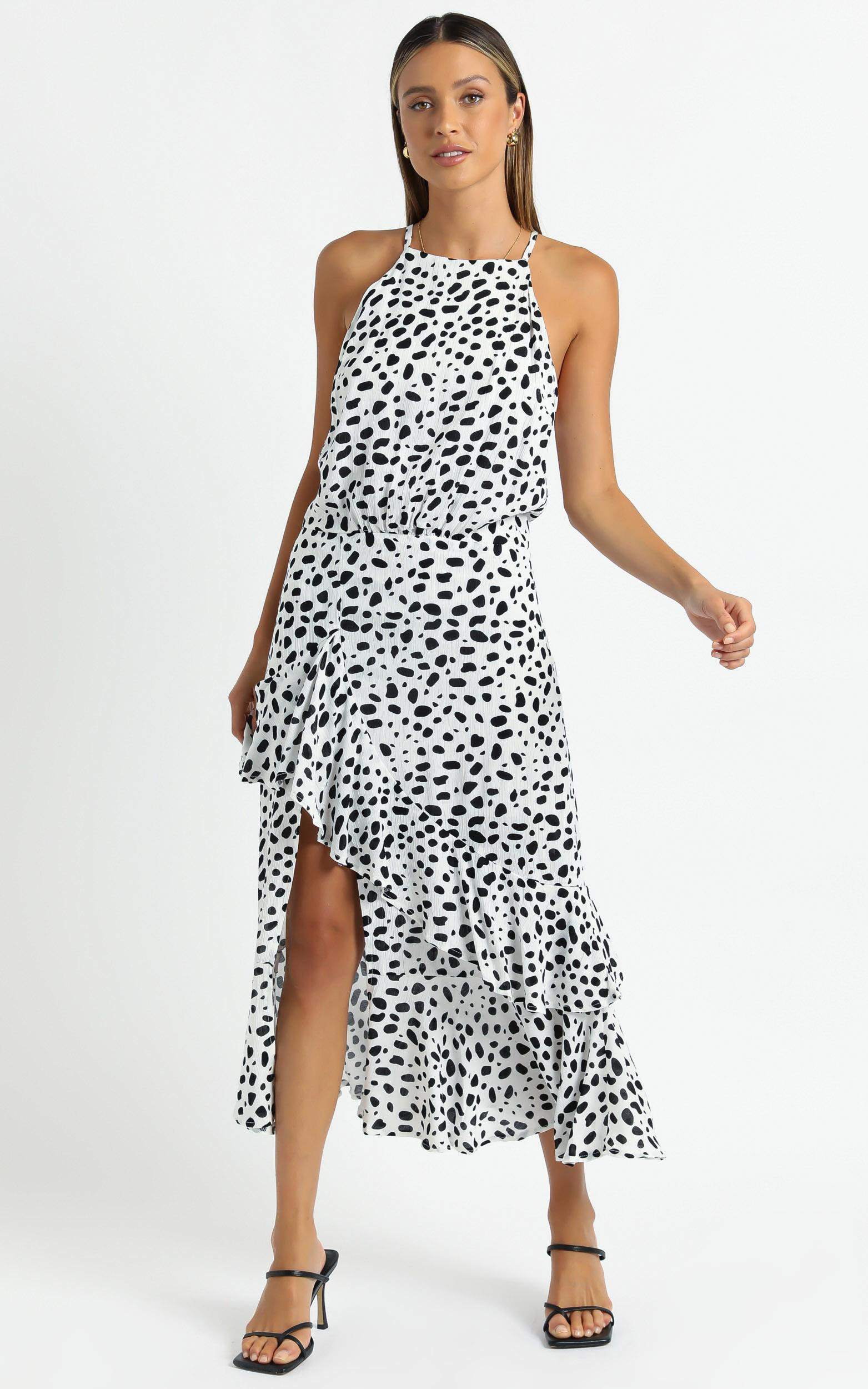 Rolly Dress in Dalmatian Print - 06, MLT1, hi-res image number null