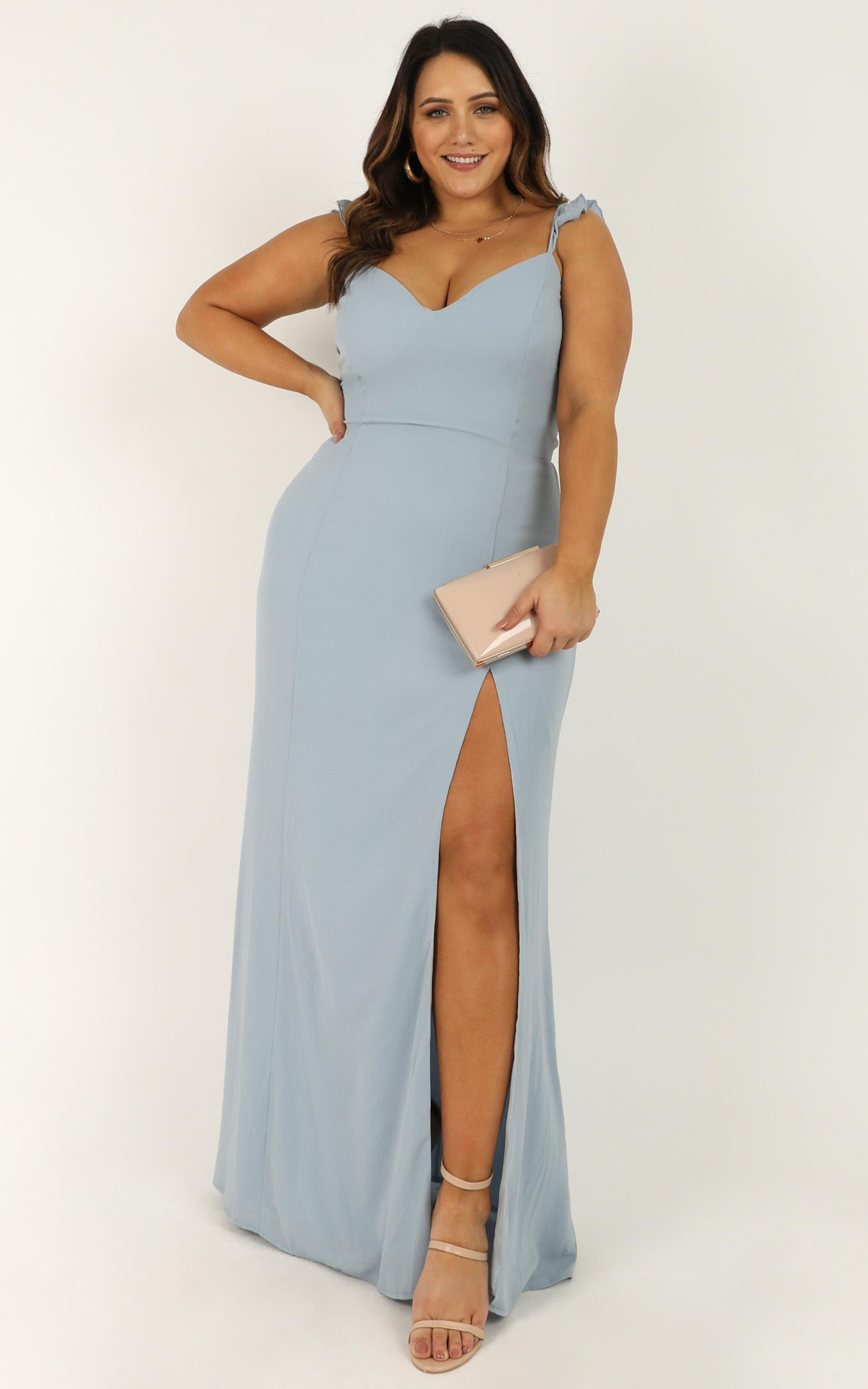 More Than This Dress in light blue - 20 (XXXXL), Blue, hi-res image number null