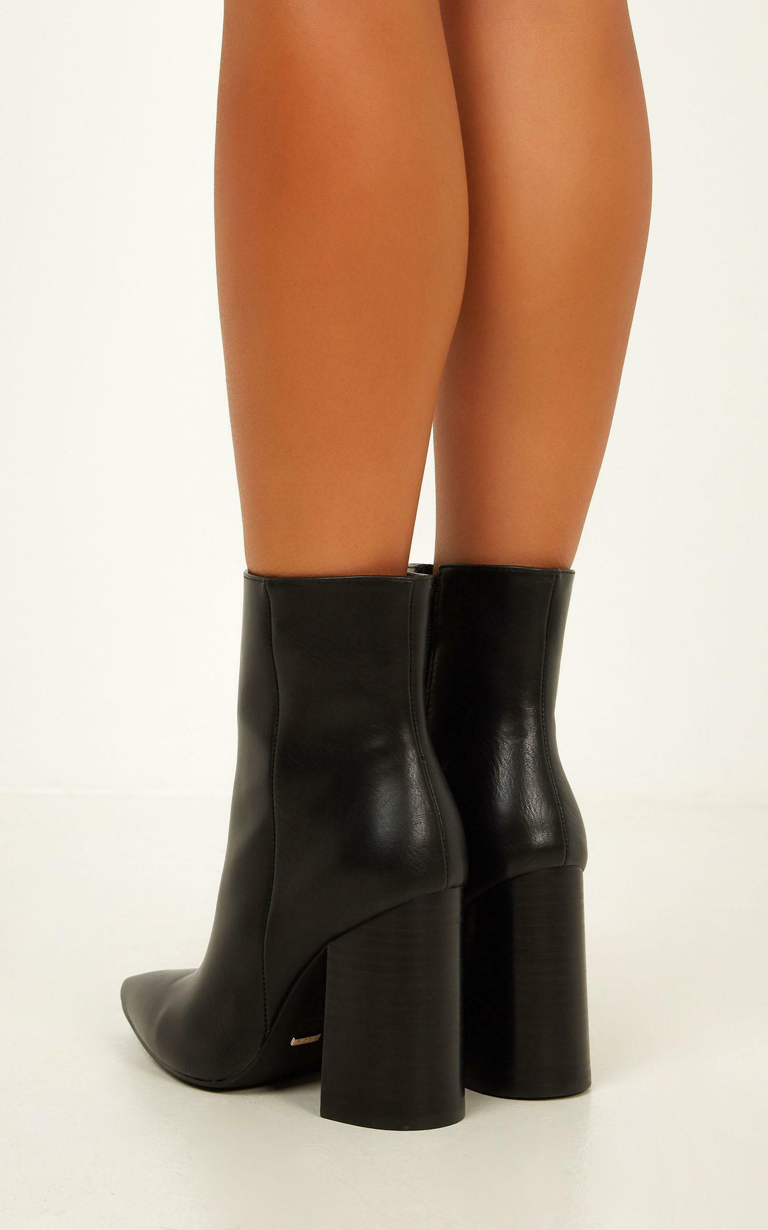 Billini - Tio boots in black - 10, Black, hi-res image number null