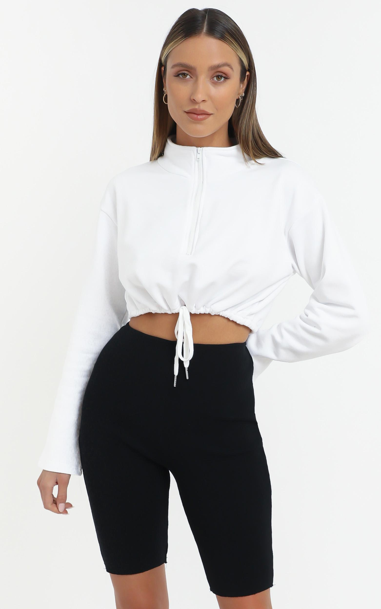 Justice Top in White - 14 (XL), White, hi-res image number null