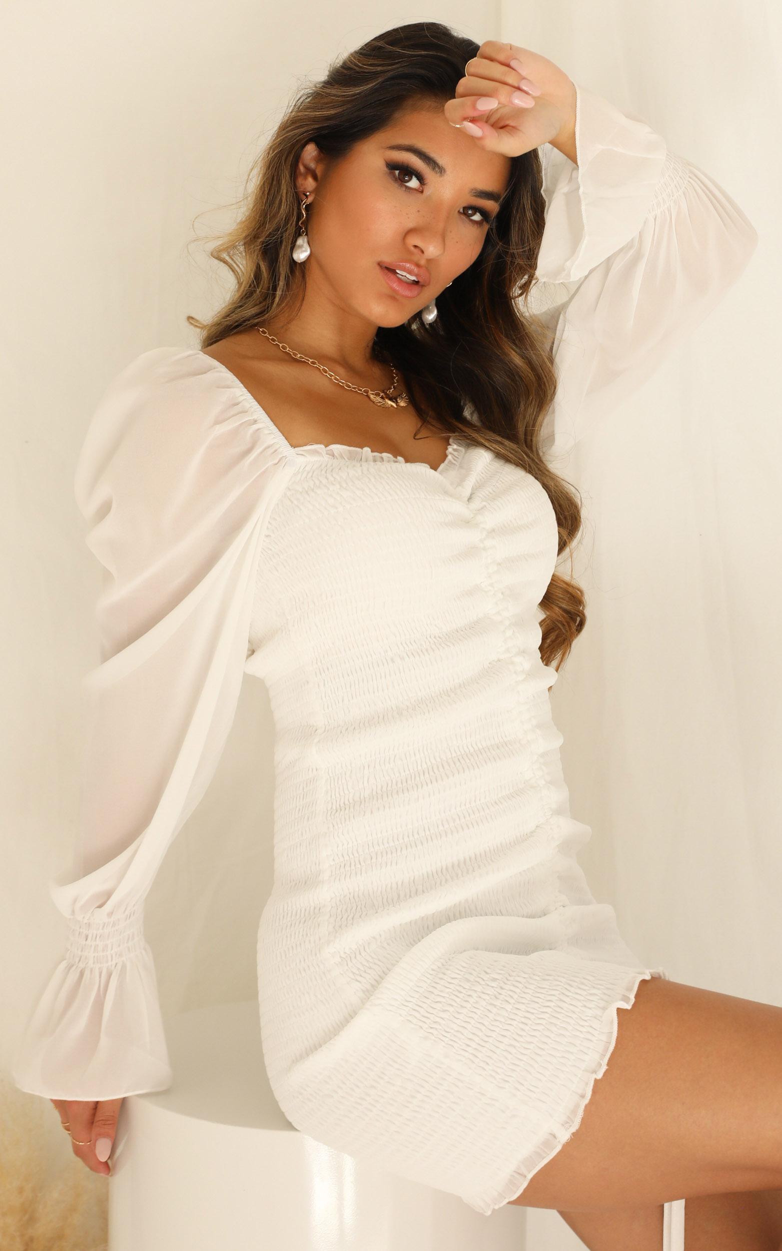 Propoganda dress in white - 16 (XXL), WHT1, hi-res image number null