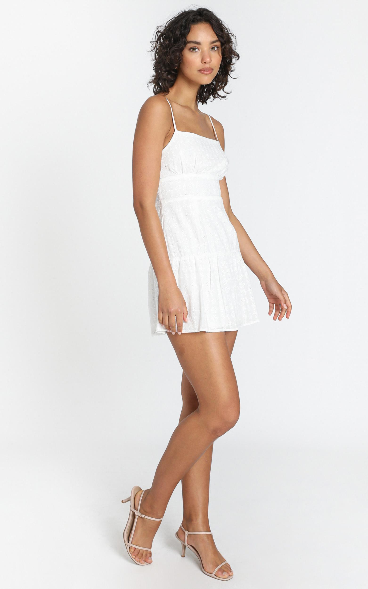 Lotte Dress in White - 6 (XS), White, hi-res image number null
