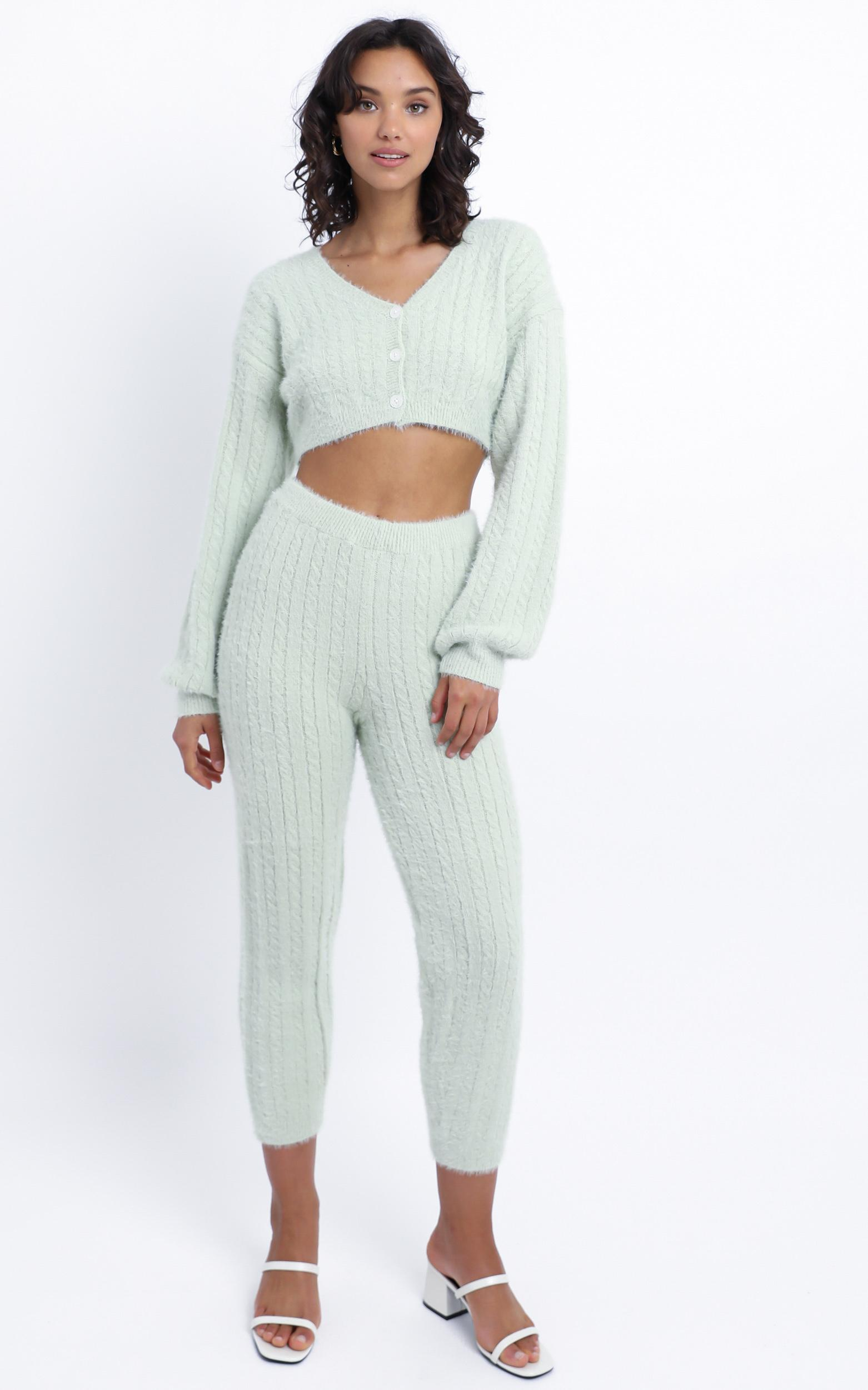 Eevi Two Piece Set in Mint - L/XL, Green, hi-res image number null