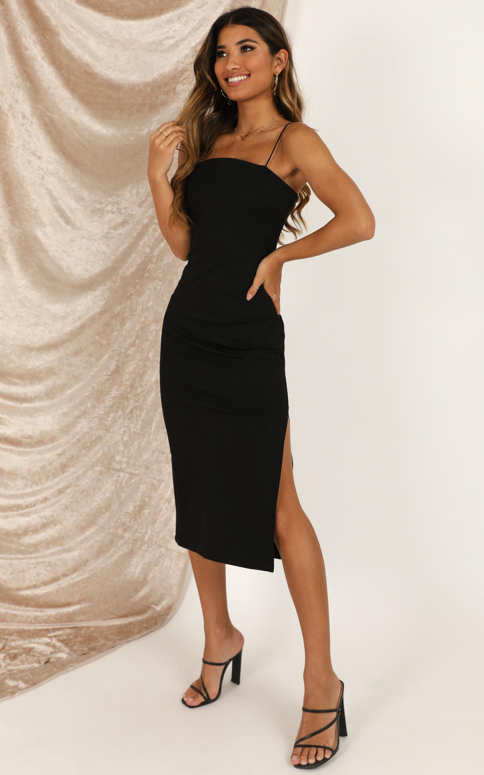 All For Fun dress in black - 16 (XXL), Black, hi-res image number null