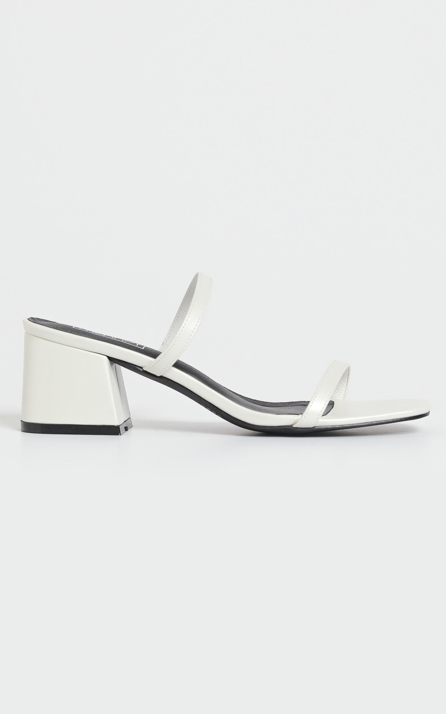 Therapy - Goldie Heels in White - 10, WHT1, hi-res image number null