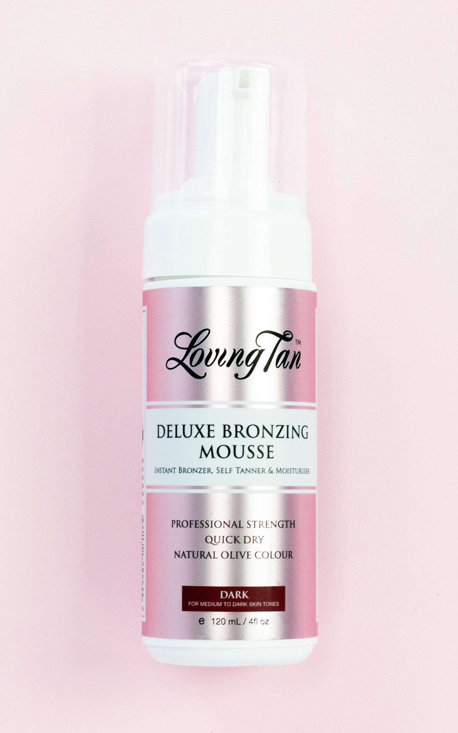 Loving Tan - Deluxe Bronzing Mousse in Dark 120ml, BRN1, hi-res image number null