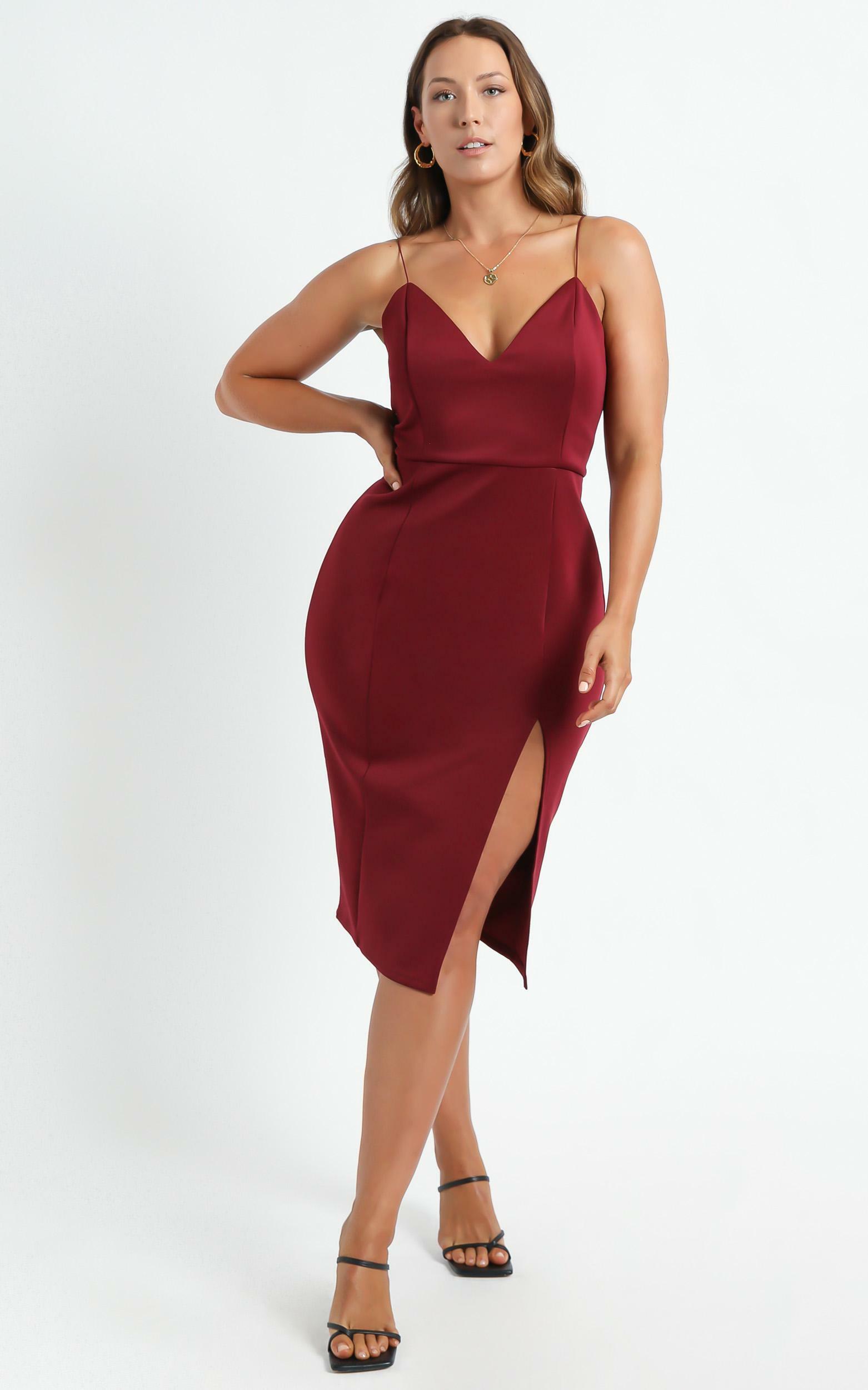 Big Ideas Dress in Wine - 04, WNE9, hi-res image number null