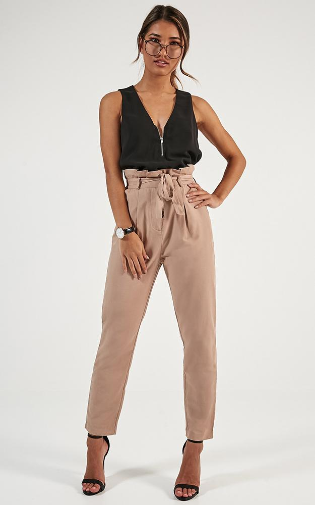 Management Pants in beige - 20 (XXXXL), BRN1, hi-res image number null
