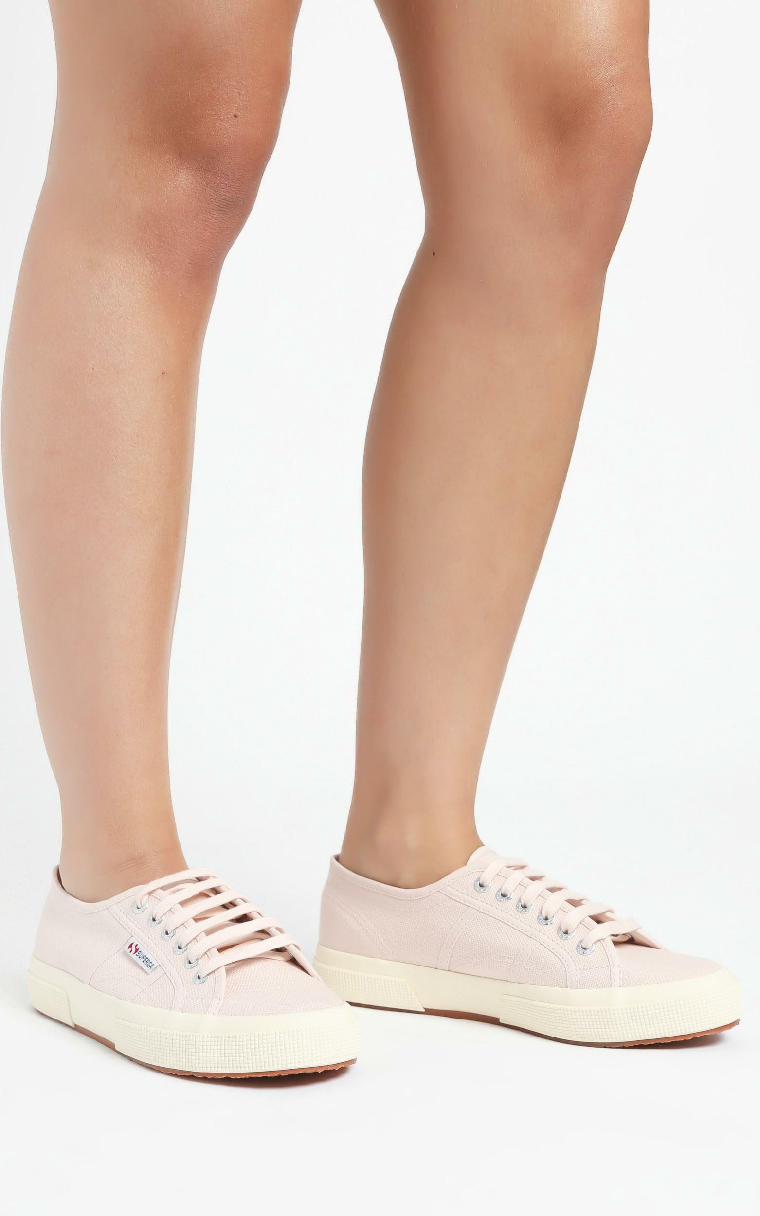 Superga - 2750 Cotu Classic Sneakers in pink peach blush - off white - 05, WHT1, hi-res image number null