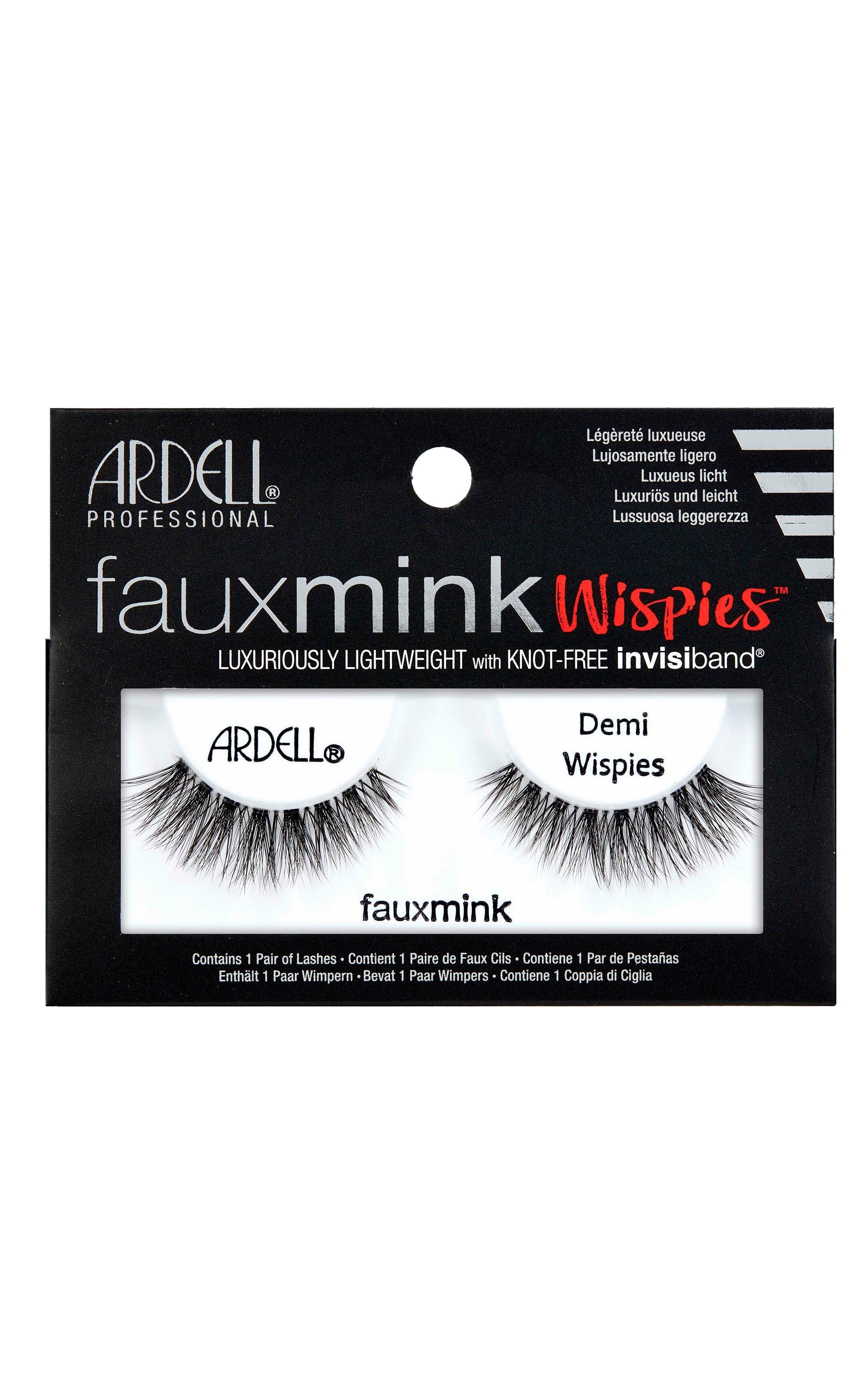 Ardell - Faux Mink Demi Wispies in Black, , hi-res image number null