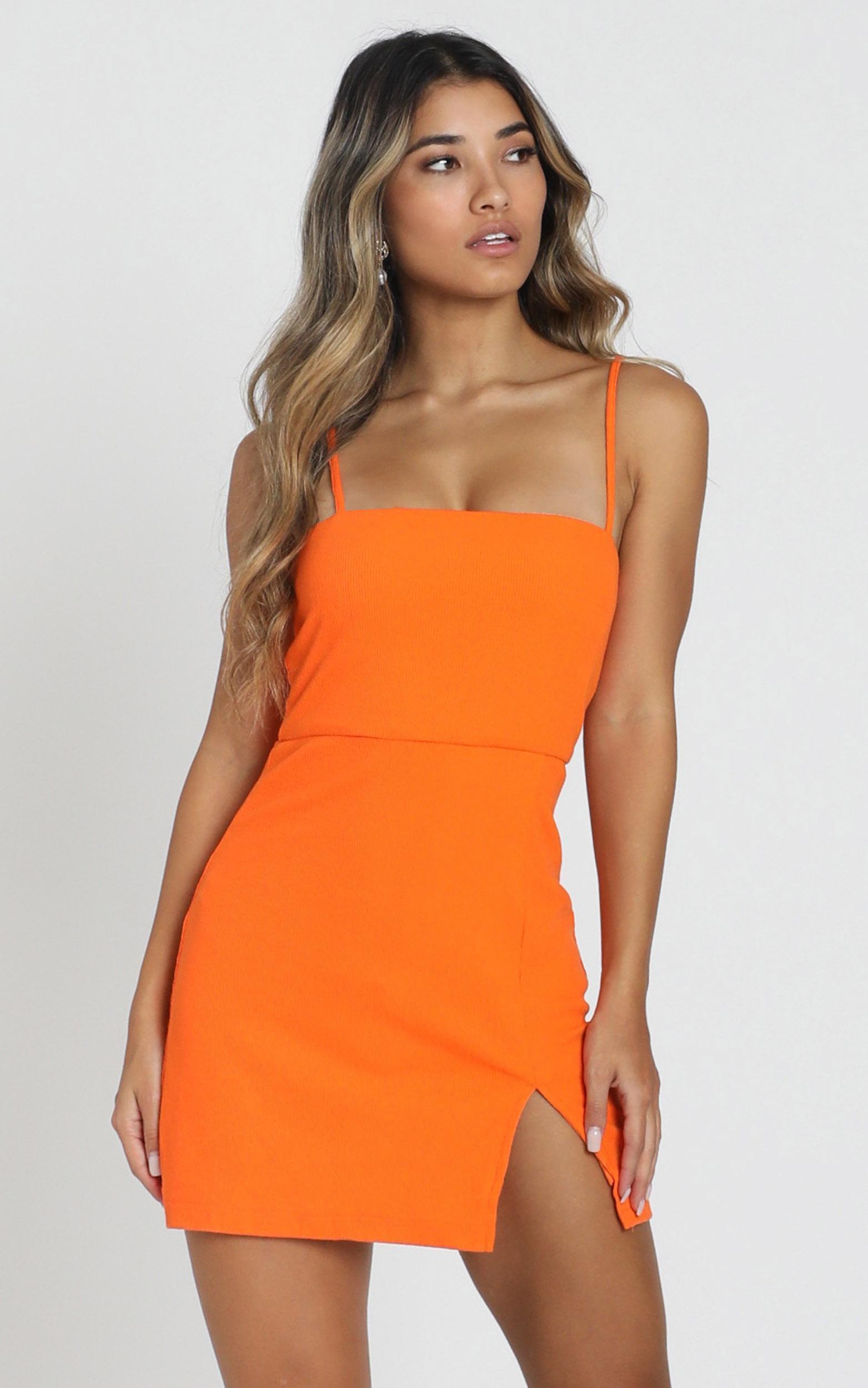 Island Babe Dress in orange - 6 (XS), Orange, hi-res image number null