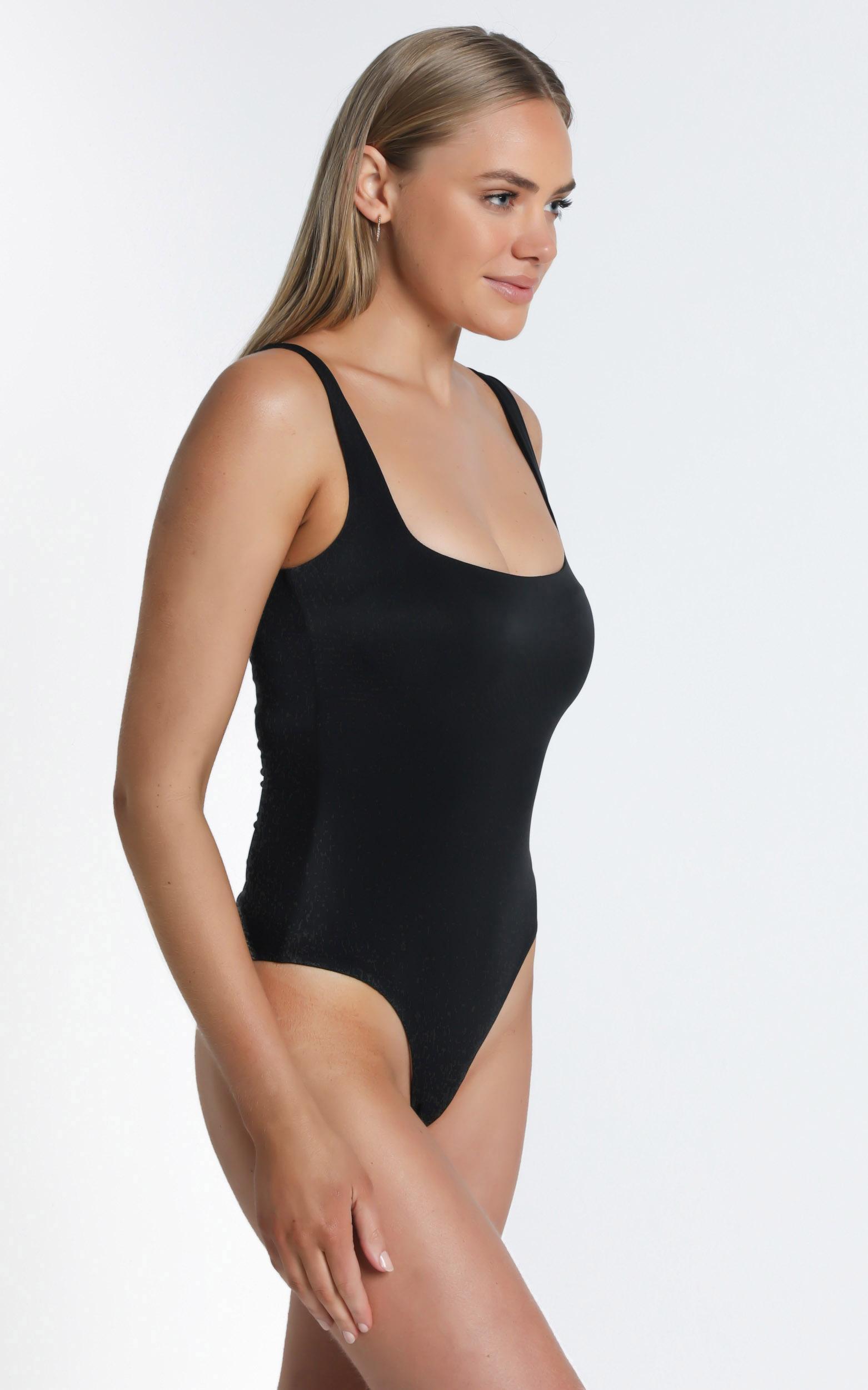 Blake Bodysuit In Black - 14 (XL), Black, hi-res image number null