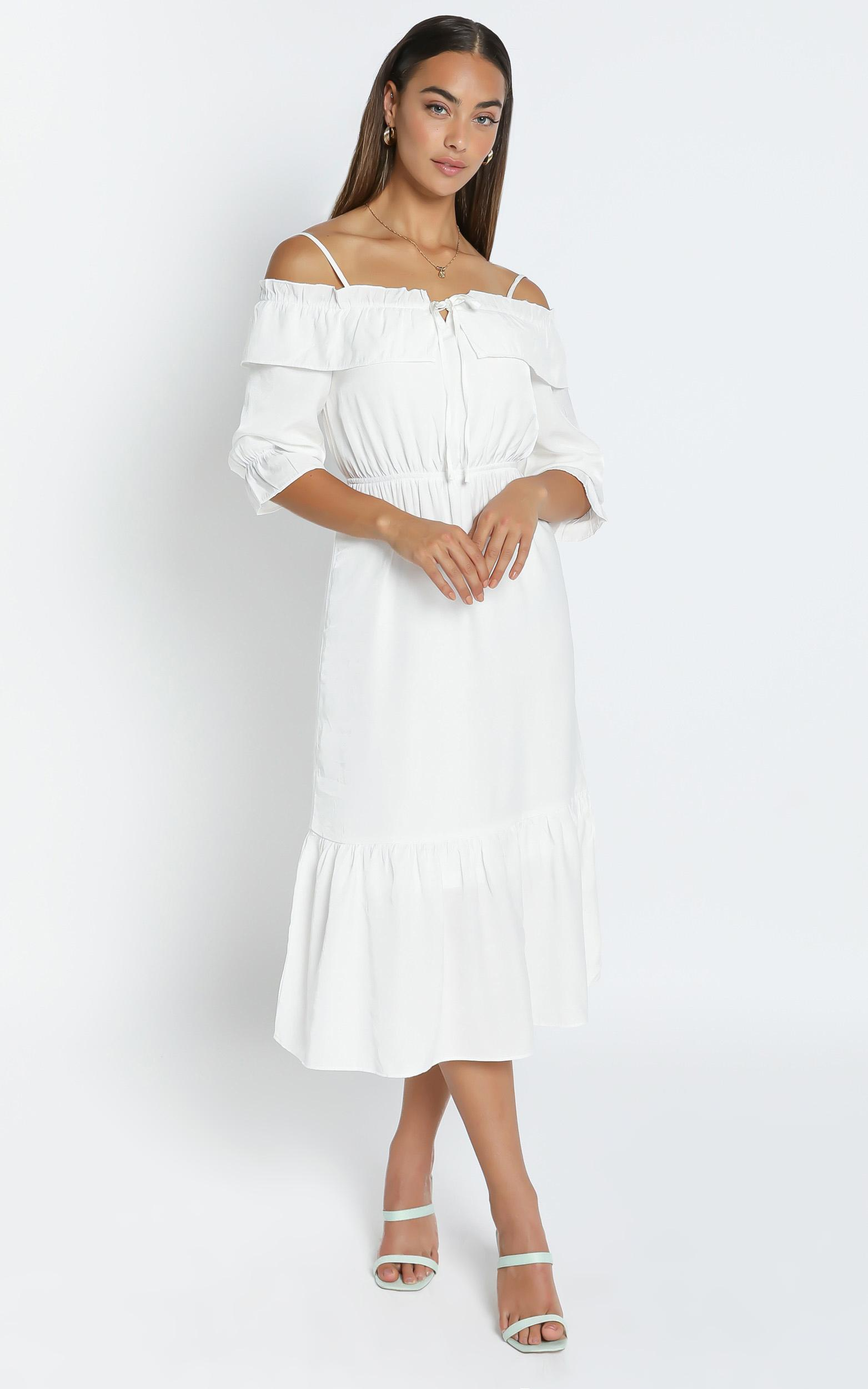 Pristine Dress in White - 6 (XS), White, hi-res image number null