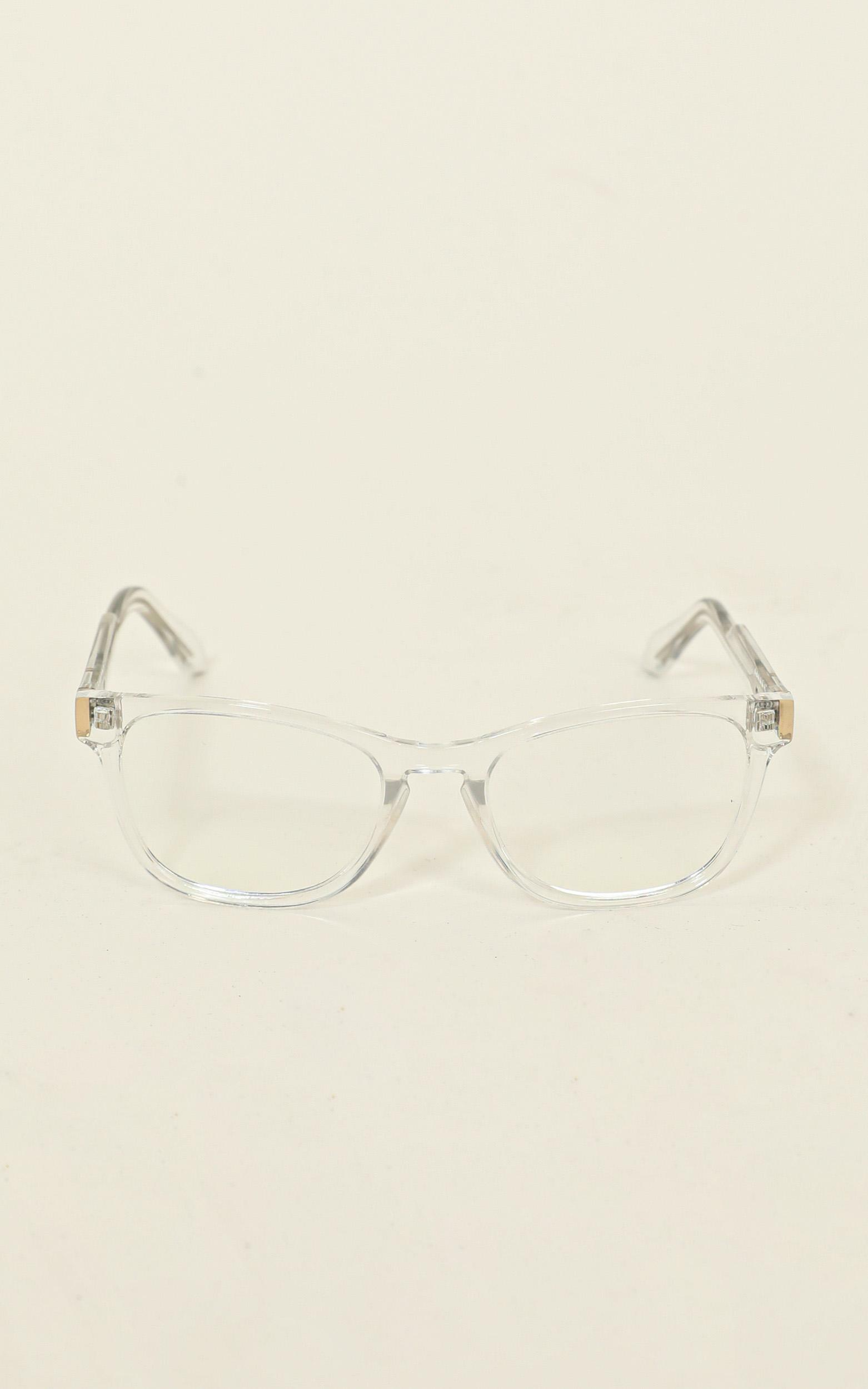 Quay - Hardwire Mini Blue Light Glasses In Clear, , hi-res image number null